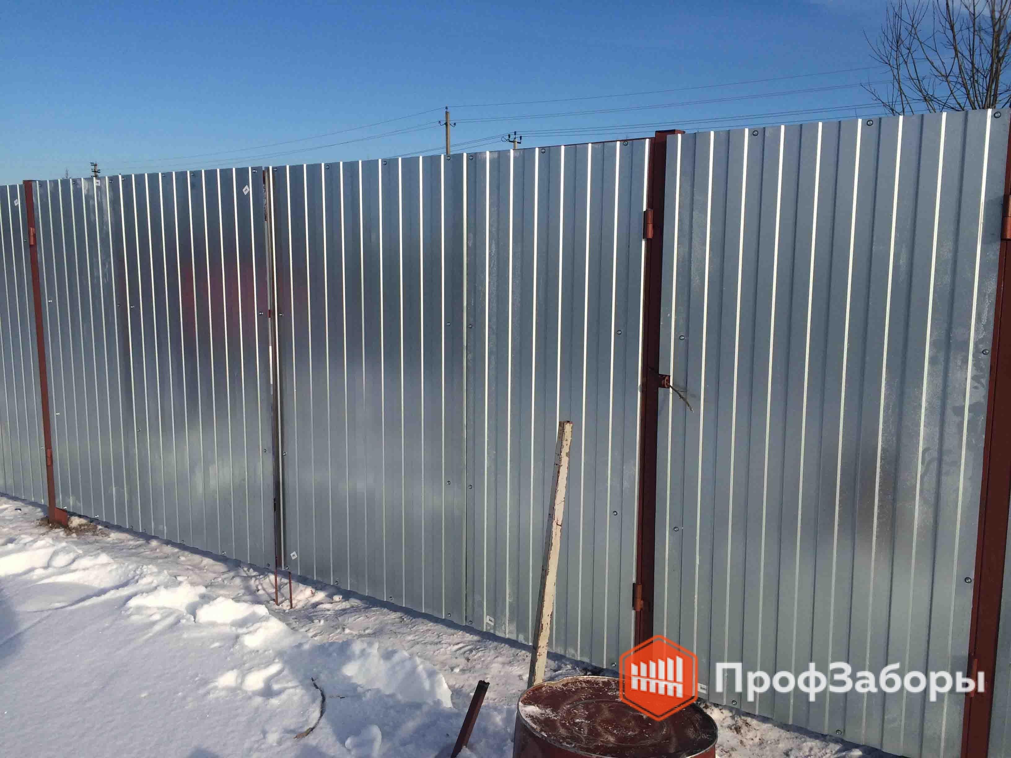 Заборы Из профнастила  - Городской округ Клин. Фото 2