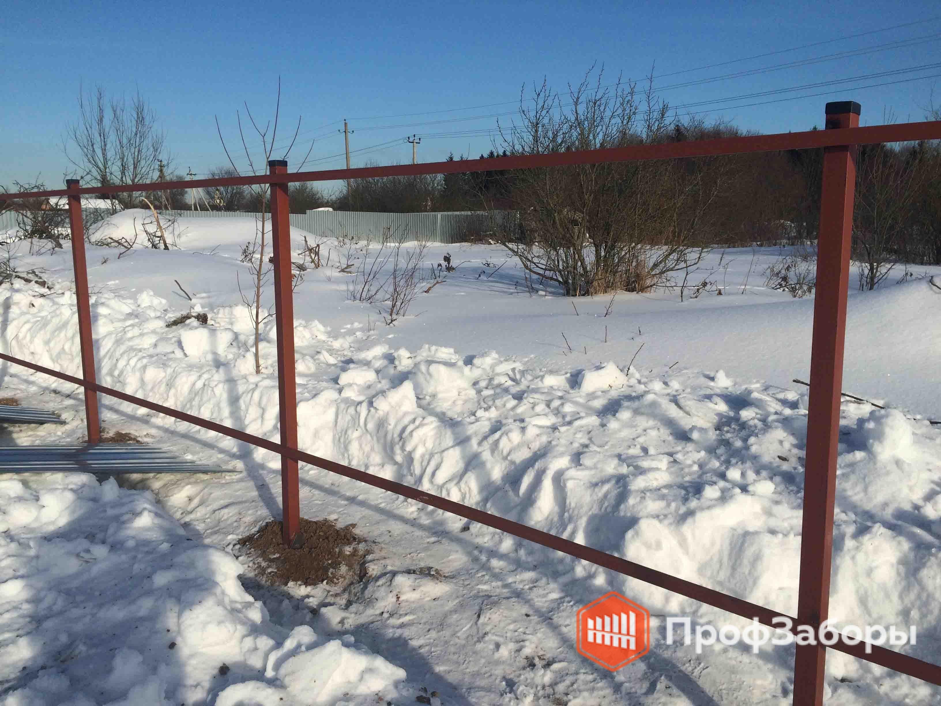 Заборы Из профнастила  - Городской округ Клин. Фото 3