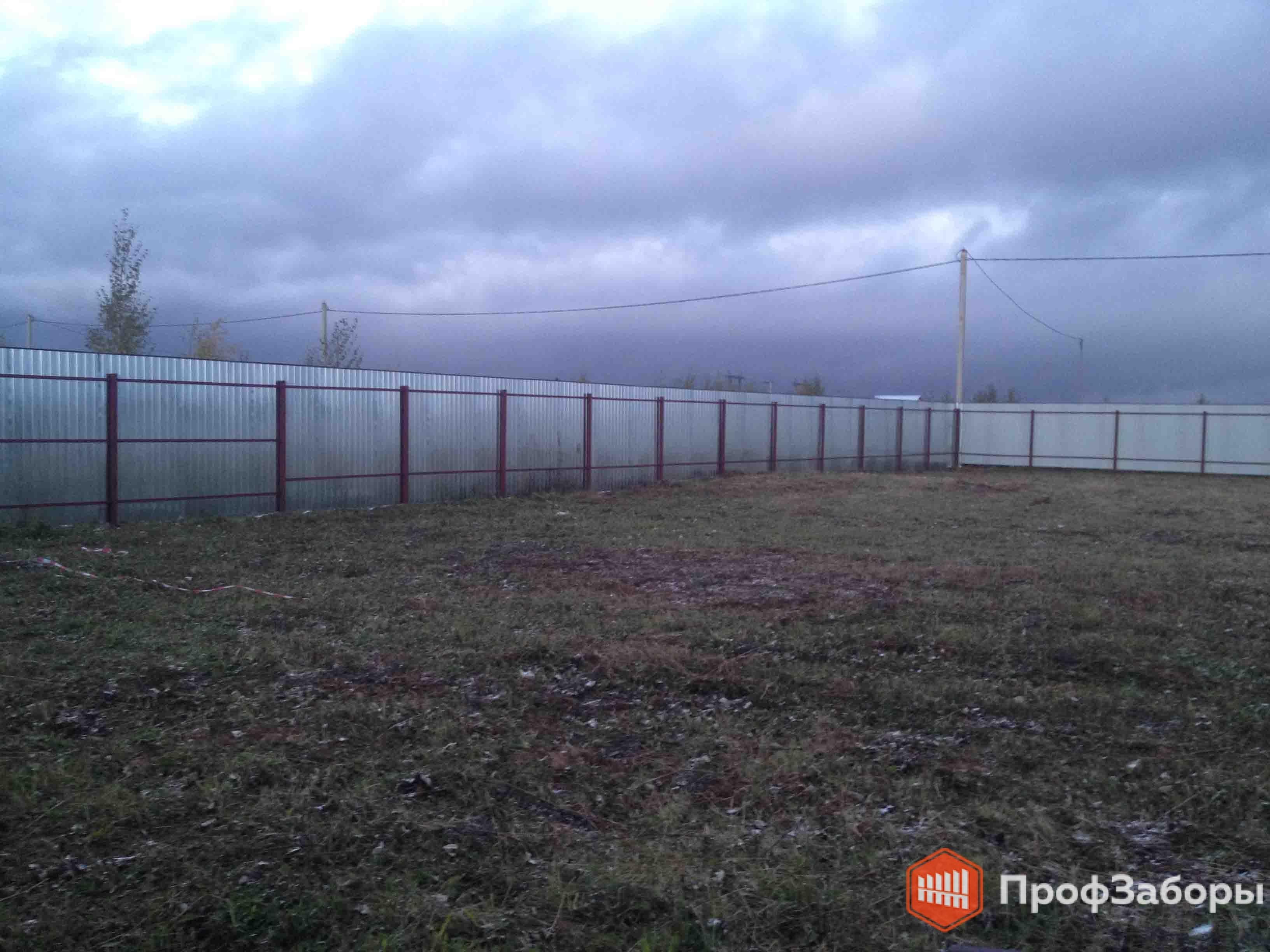 Заборы Из профнастила  - Посёлок городского типа Удельная. Фото 4