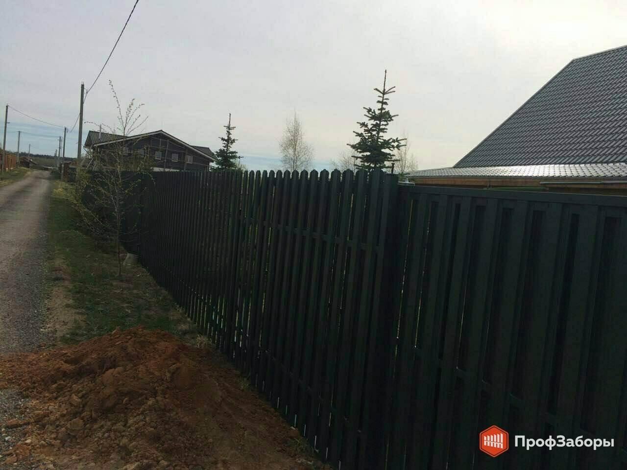 Заборы Из евроштакетника - Раменский район. Фото 3
