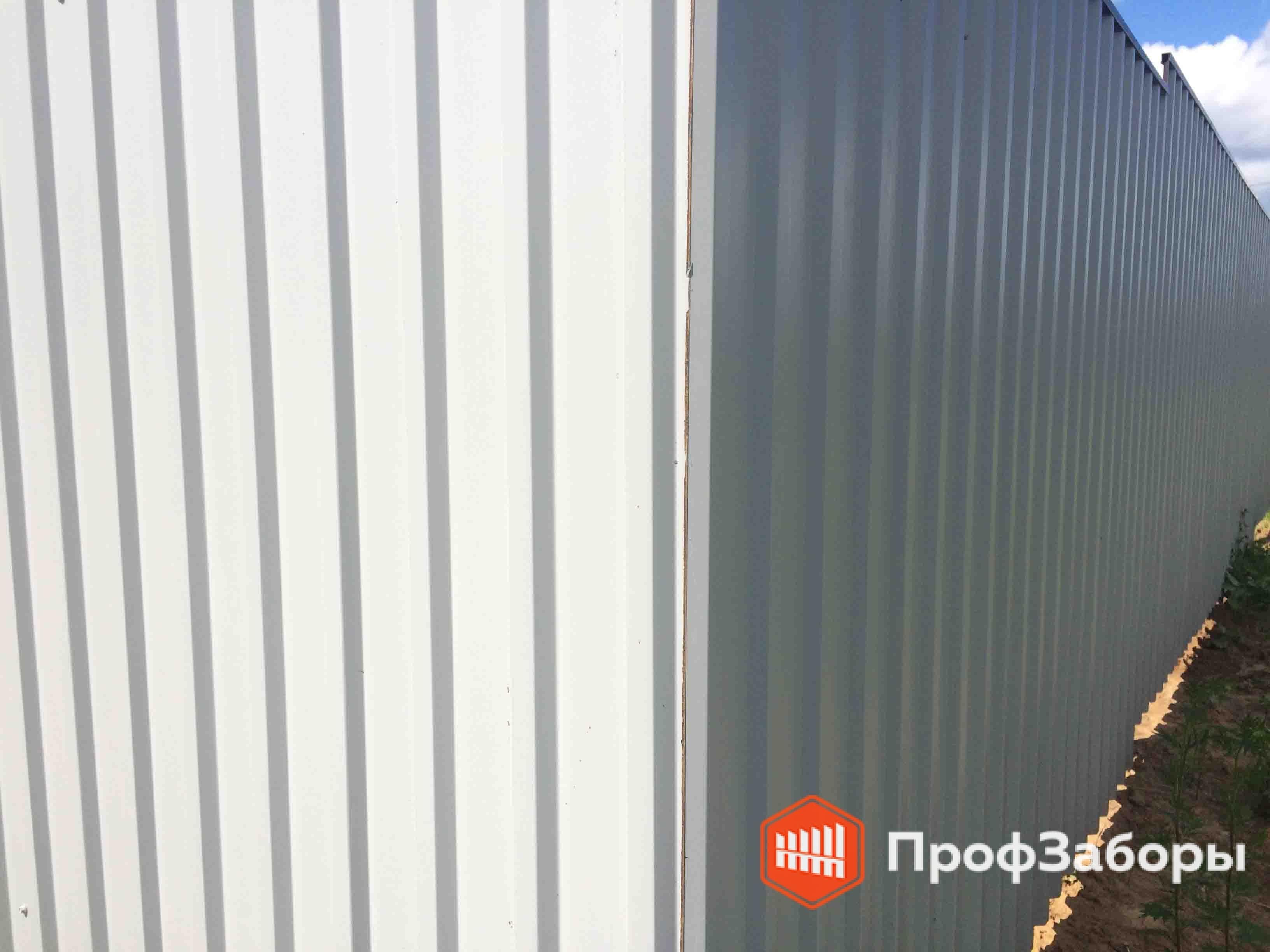 Заборы Из профнастила  - Раменский район. Фото 2
