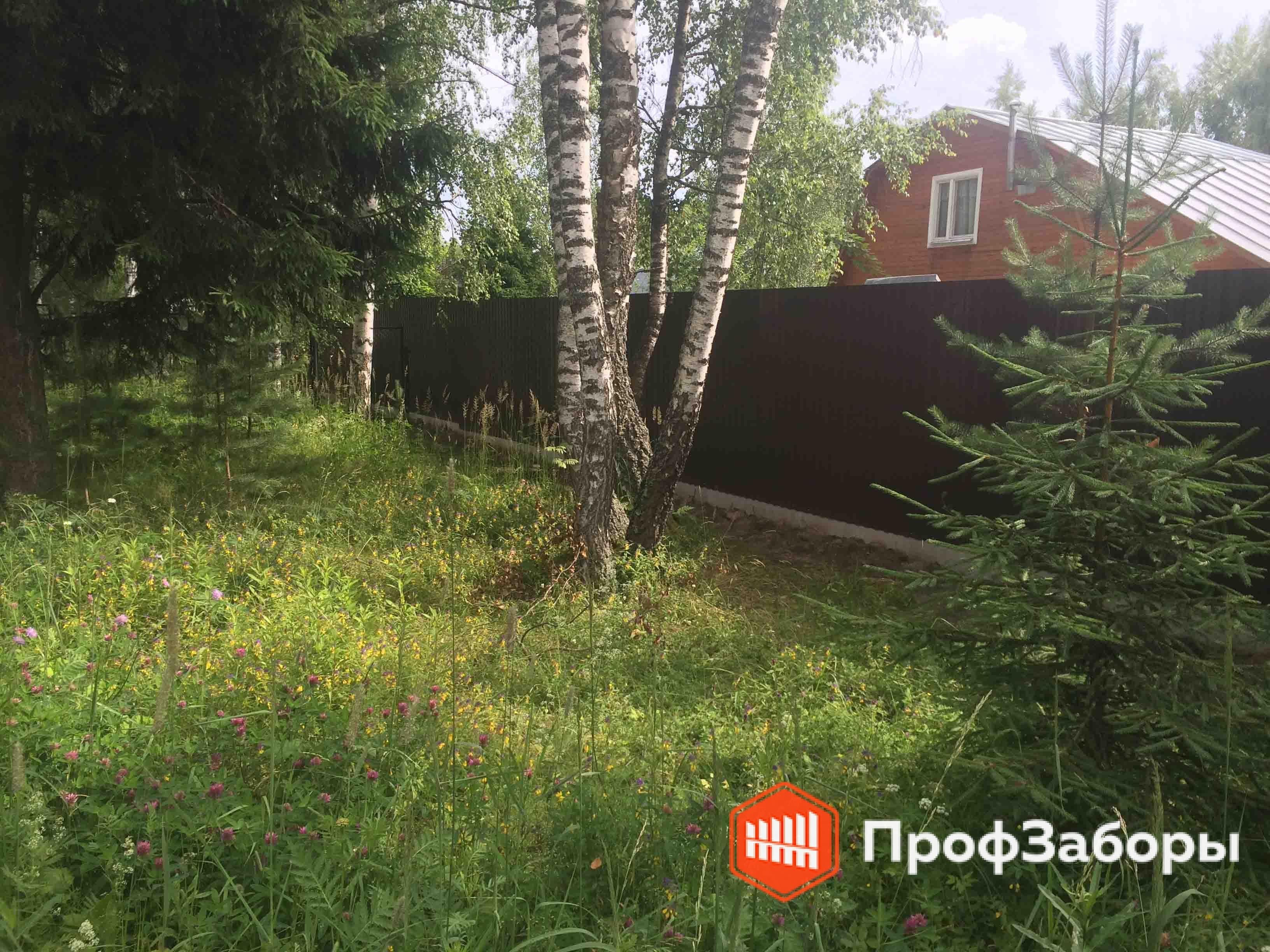 Заборы Из профнастила  - Городской округ Луховицы. Фото 3