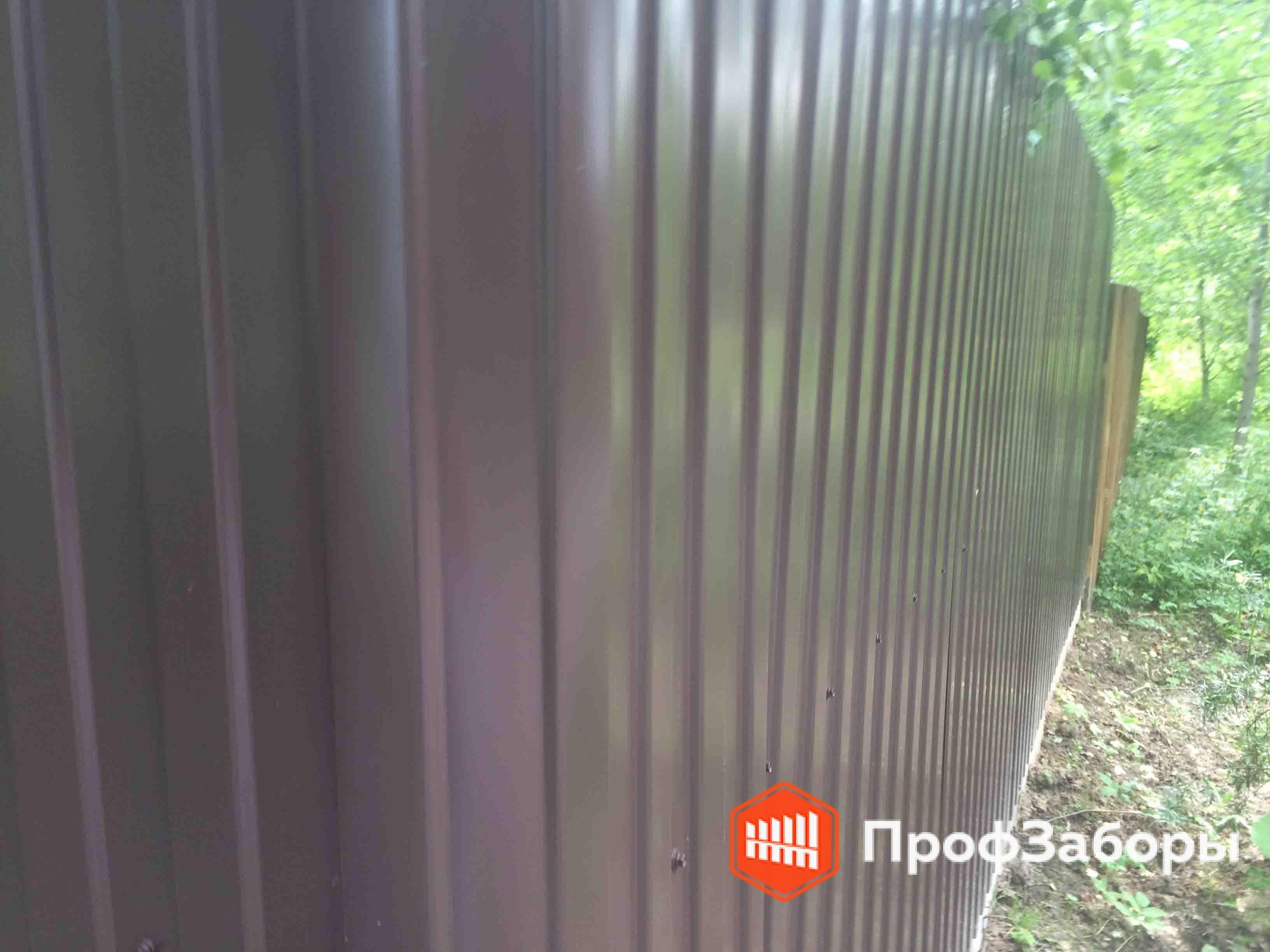 Заборы Из профнастила  - Городской округ Луховицы. Фото 4