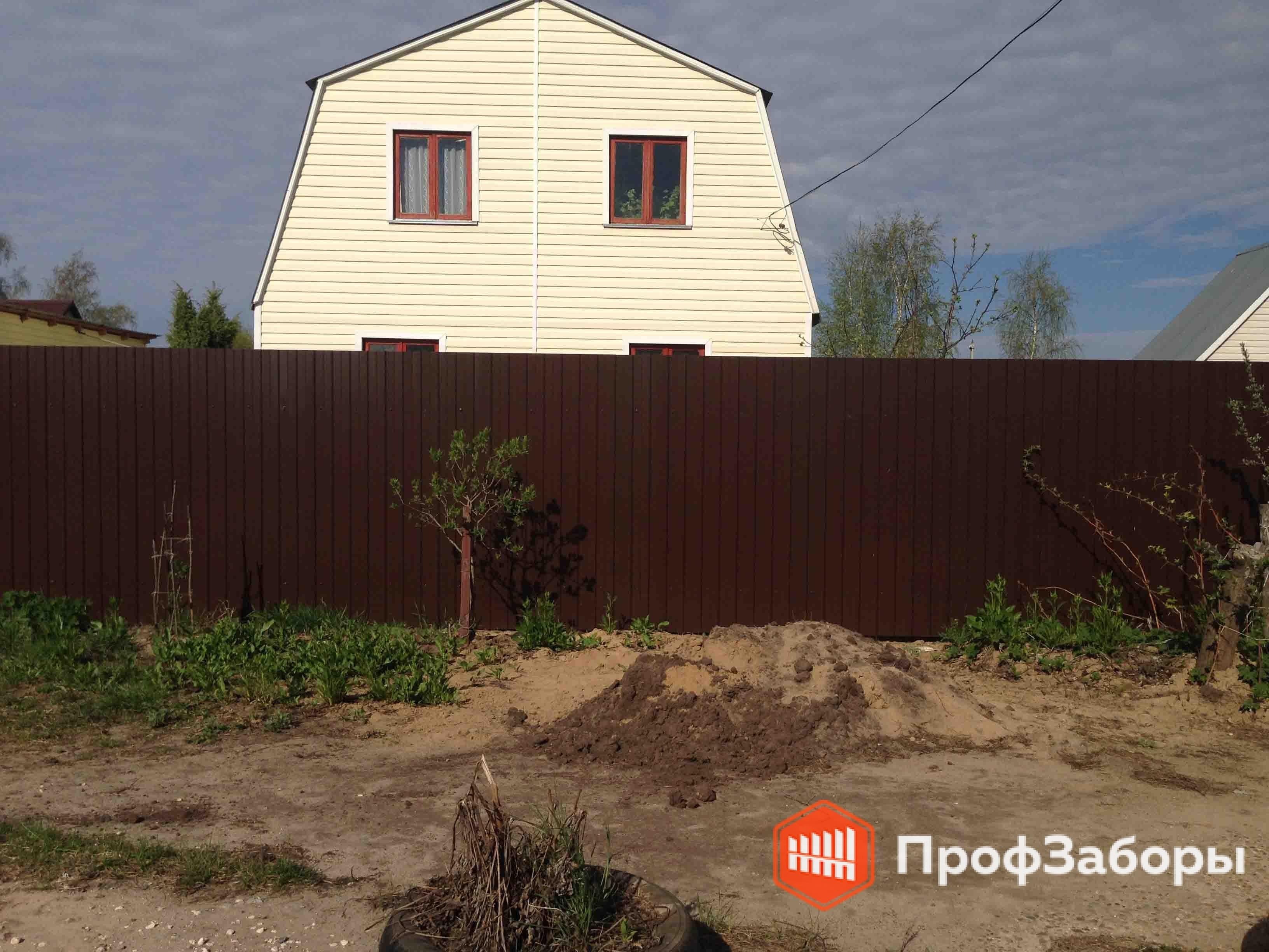 Заборы Из профнастила  - Одинцовский район. Фото 4