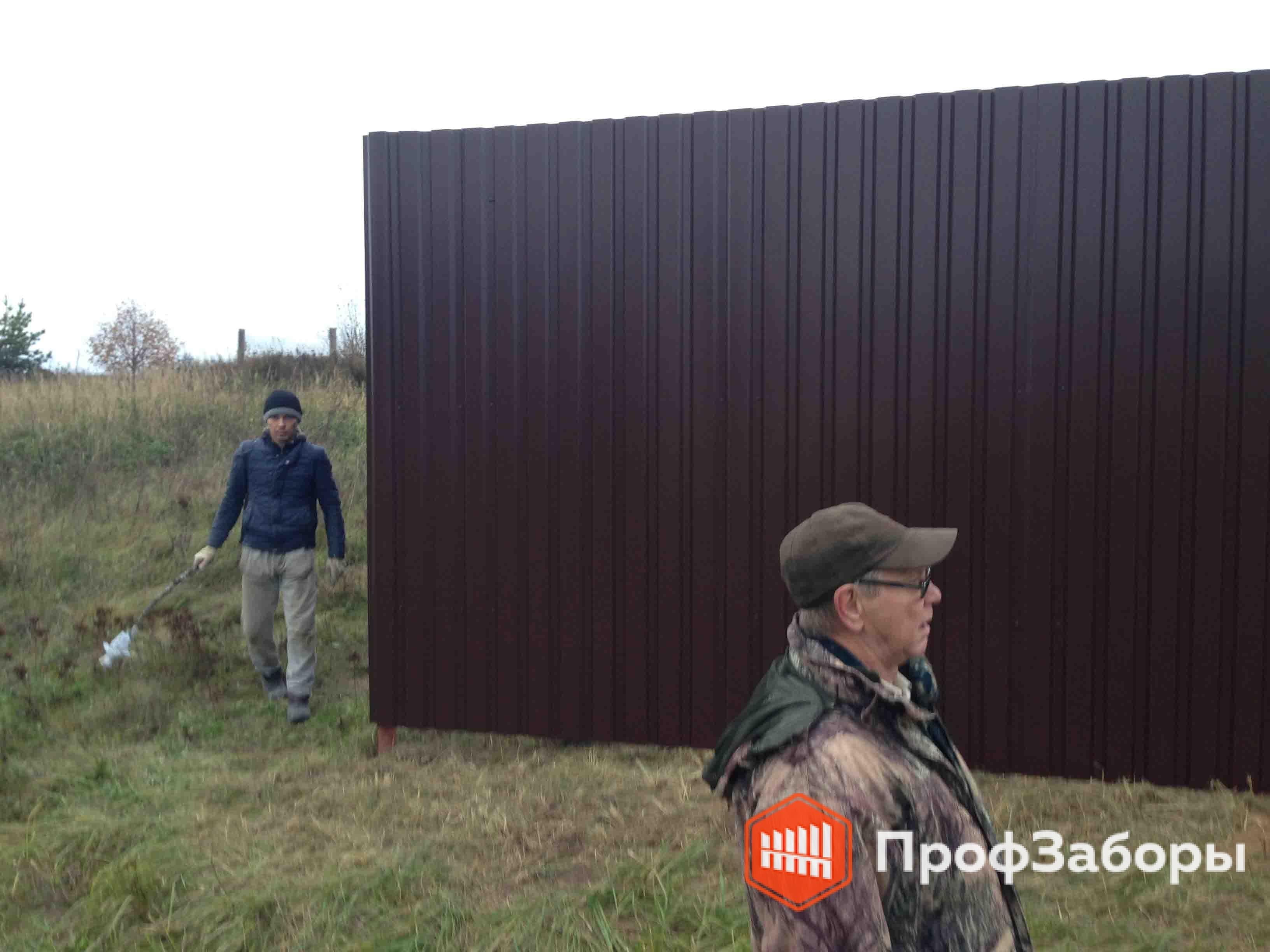 Заборы Из профнастила  - Город Химки. Фото 3