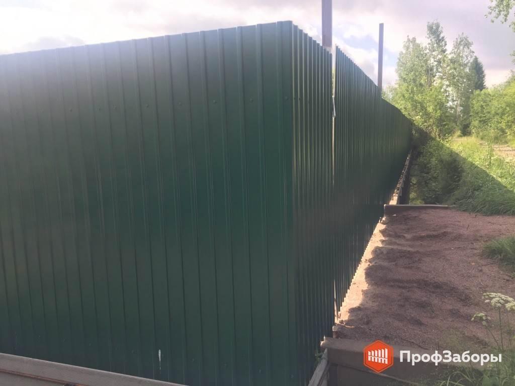 Заборы Из профнастила  - СергиевоПосадский район. Фото 2