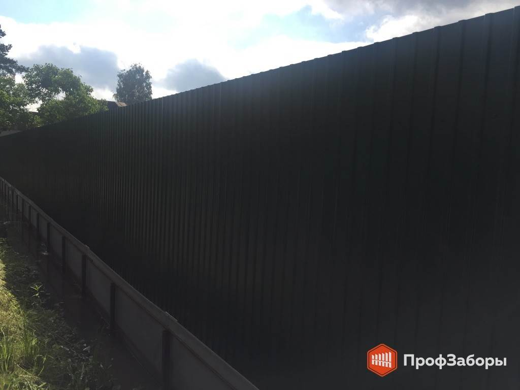 Заборы Из профнастила  - СергиевоПосадский район. Фото 3