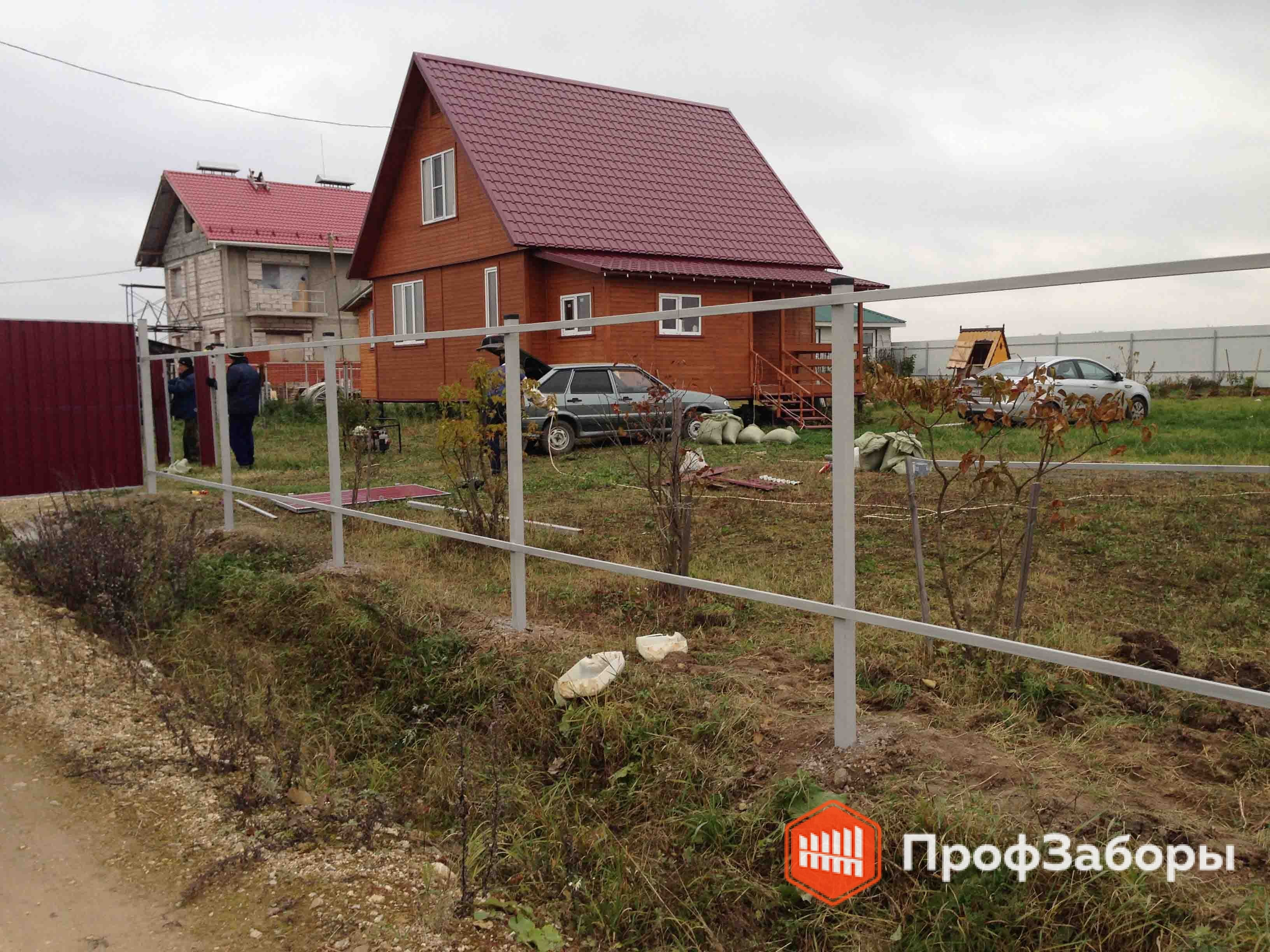 Заборы Из профнастила  - Городской округ Бронницы. Фото 3