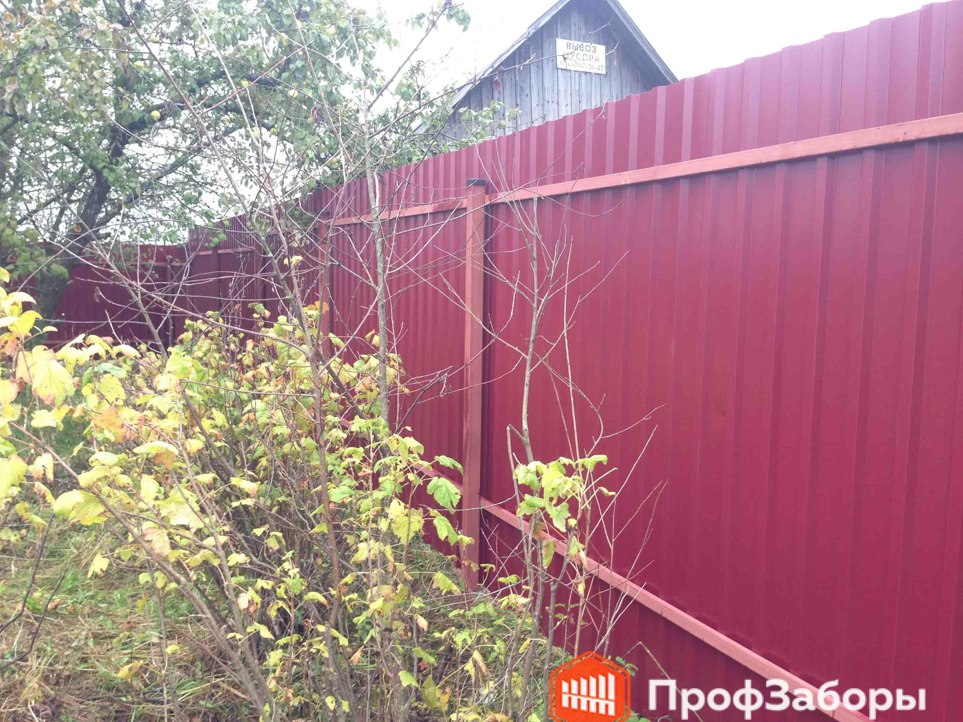 Заборы Из профнастила  - Городской округ Балашиха. Фото 3