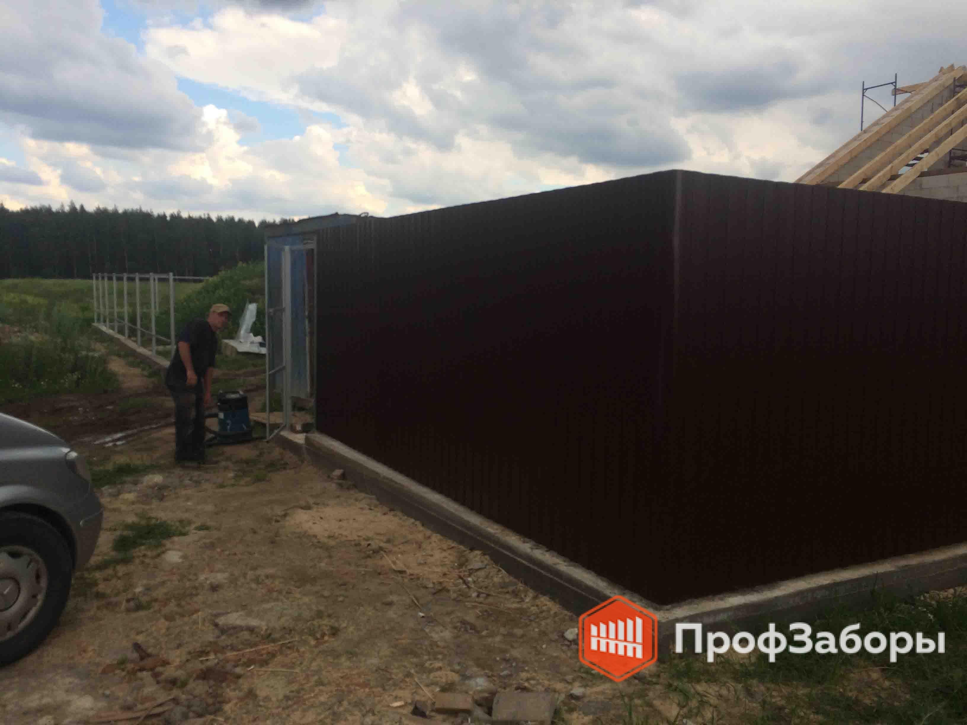 Заборы Из профнастила  - Ивановская область. Фото 2
