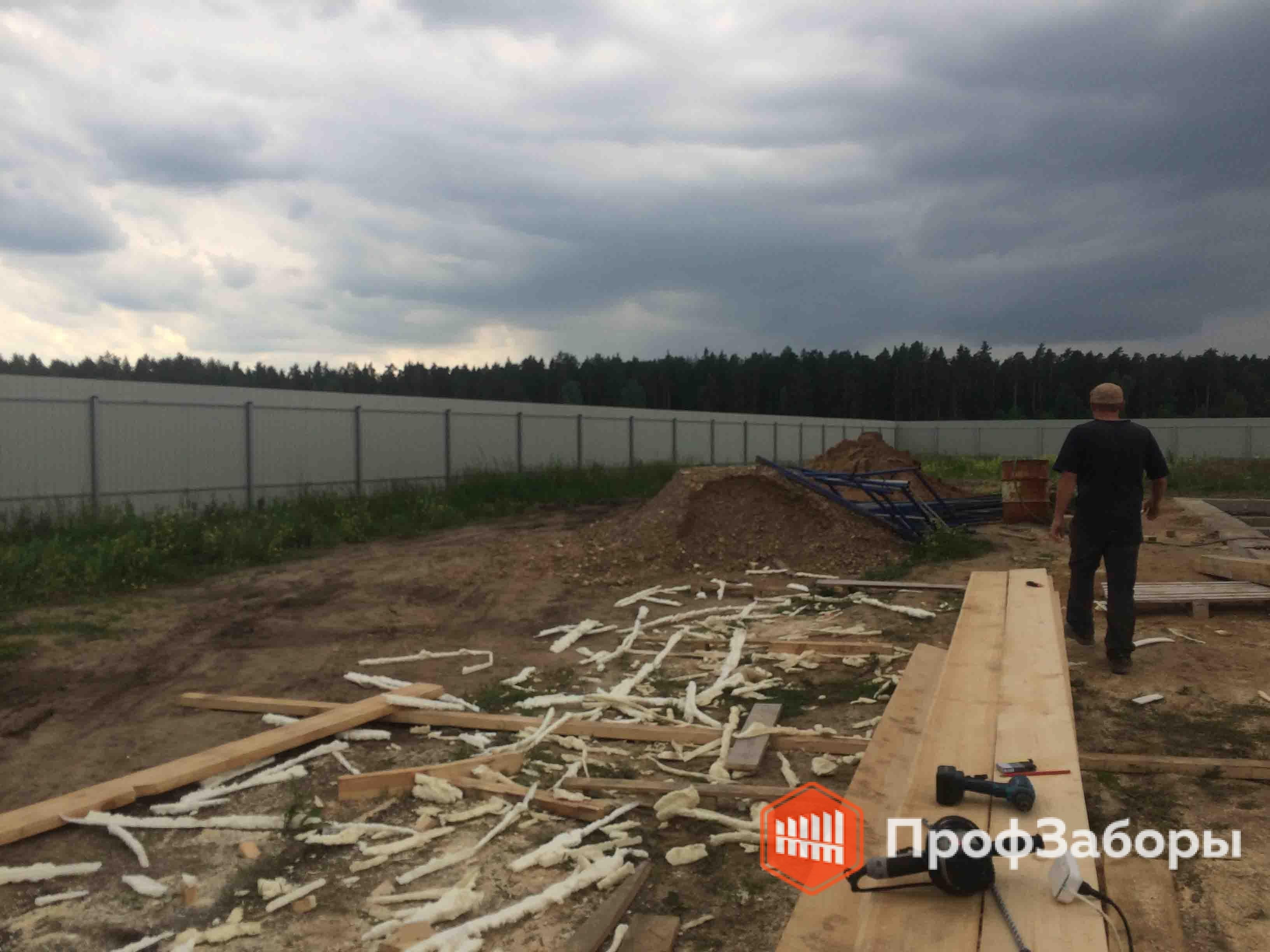 Заборы Из профнастила  - Ивановская область. Фото 3