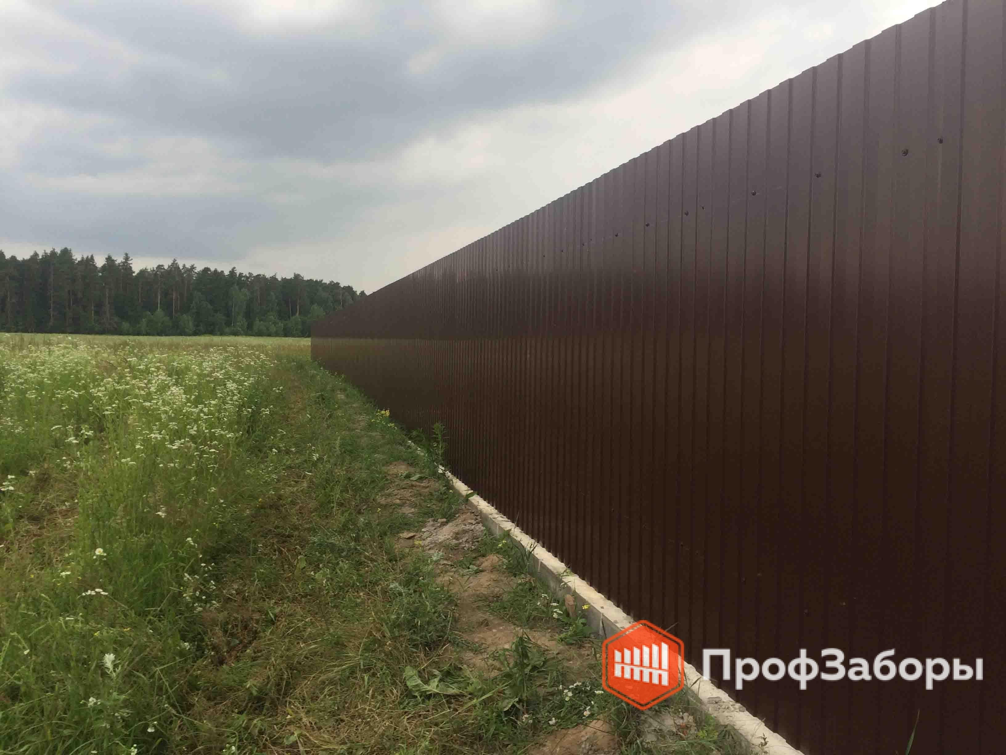 Заборы Из профнастила  - Ивановская область. Фото 4