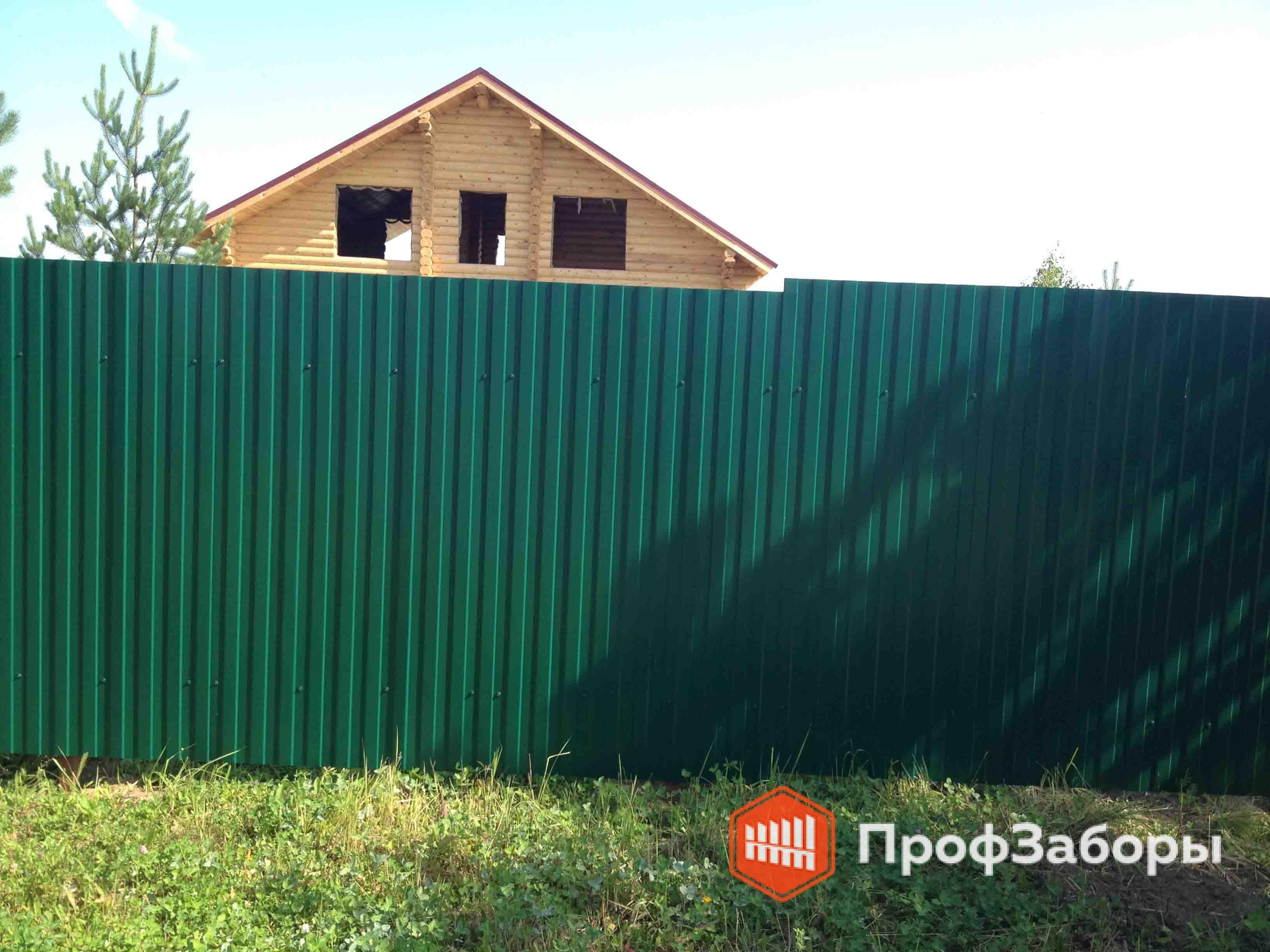 Заборы Из профнастила  - Город Дрезна. Фото 4