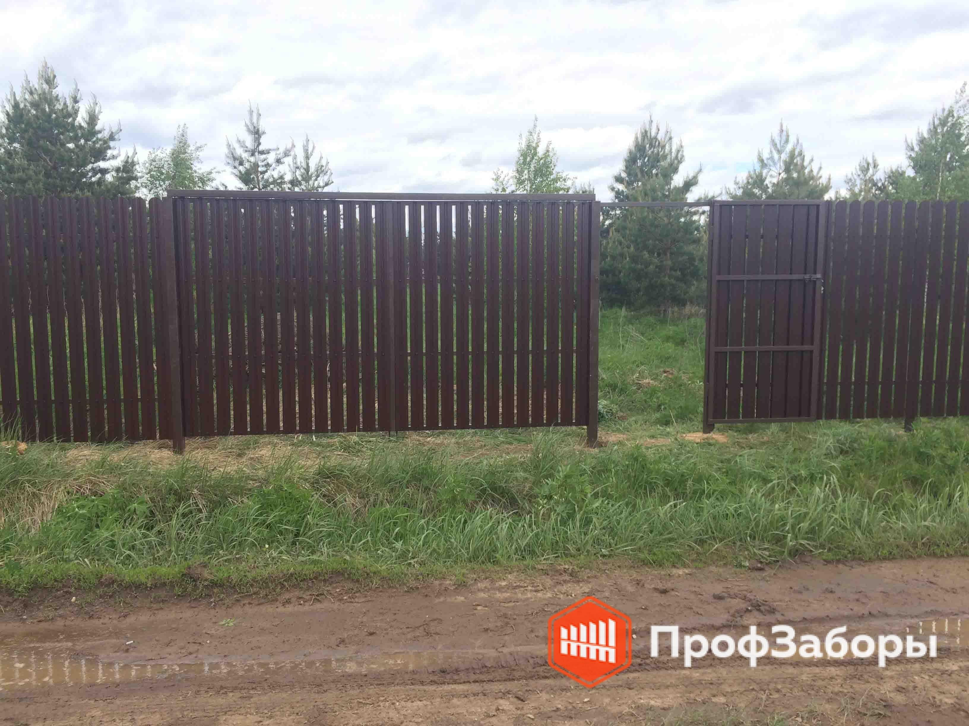 Заборы Из евроштакетника - Городской округ Королёв. Фото 2
