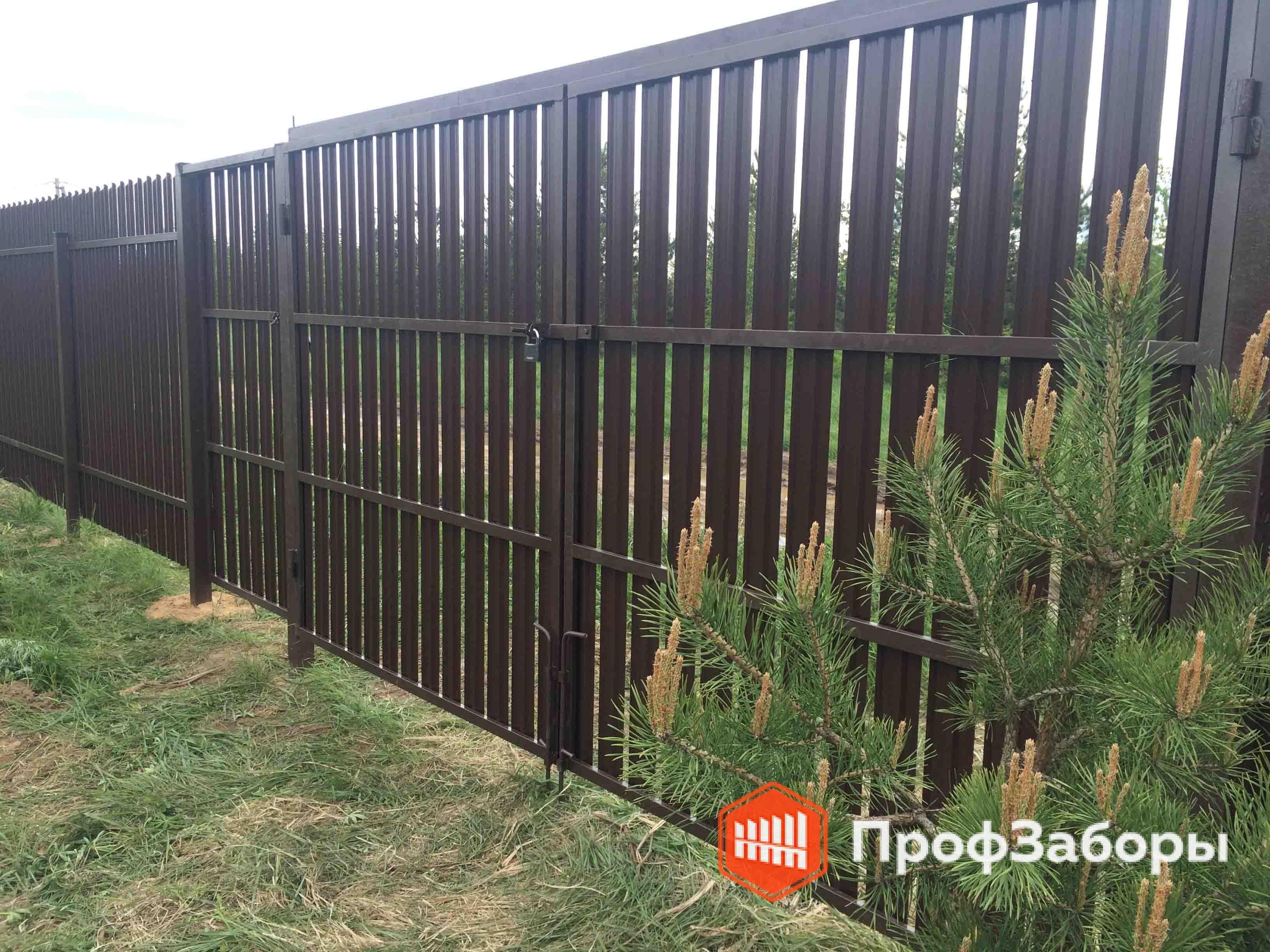 Заборы Из евроштакетника - Городской округ Королёв. Фото 3