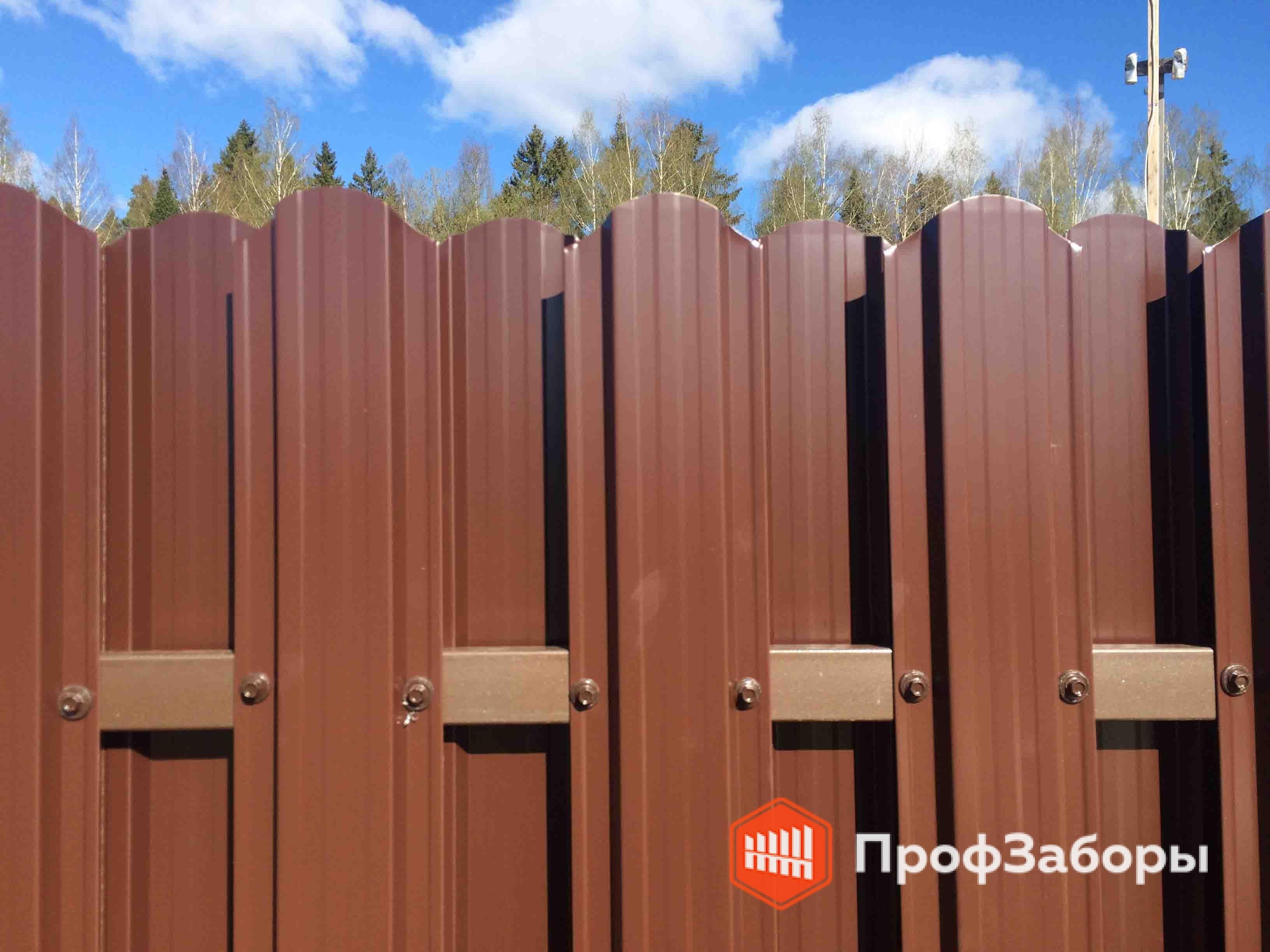 Заборы Из евроштакетника - СергиевоПосадский район. Фото 3