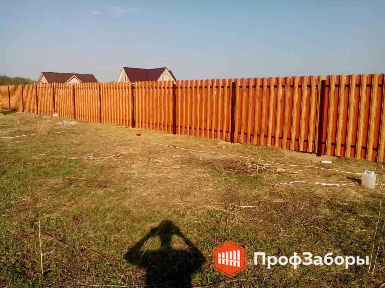 Заборы Из евроштакетника - Волоколамский район. Фото 3