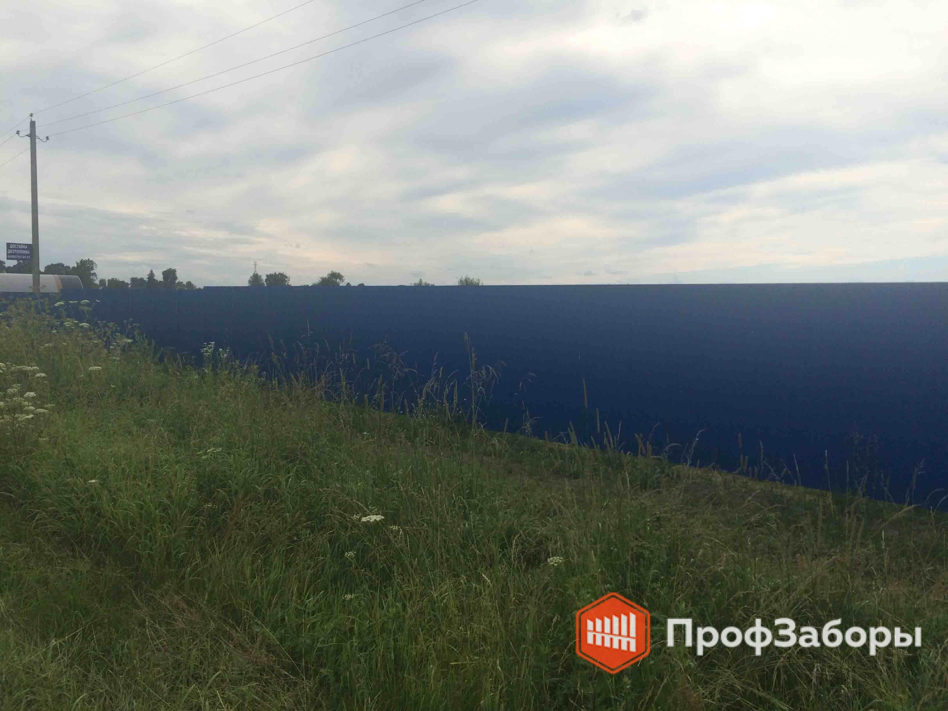 Заборы Из профнастила  - Городской округ Зарайск. Фото 4