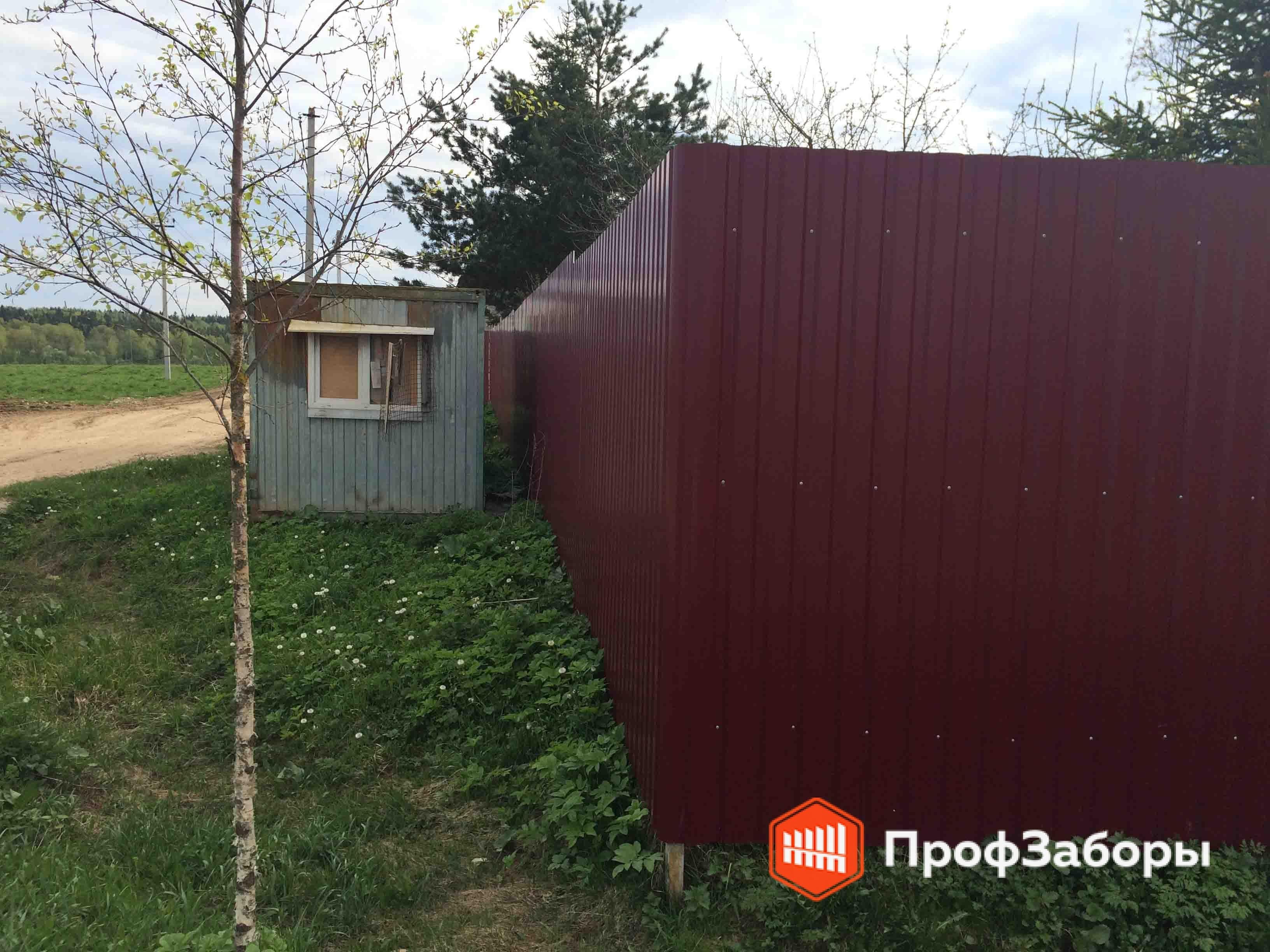 Заборы Из профнастила  - Городское поселение Электроугли. Фото 2