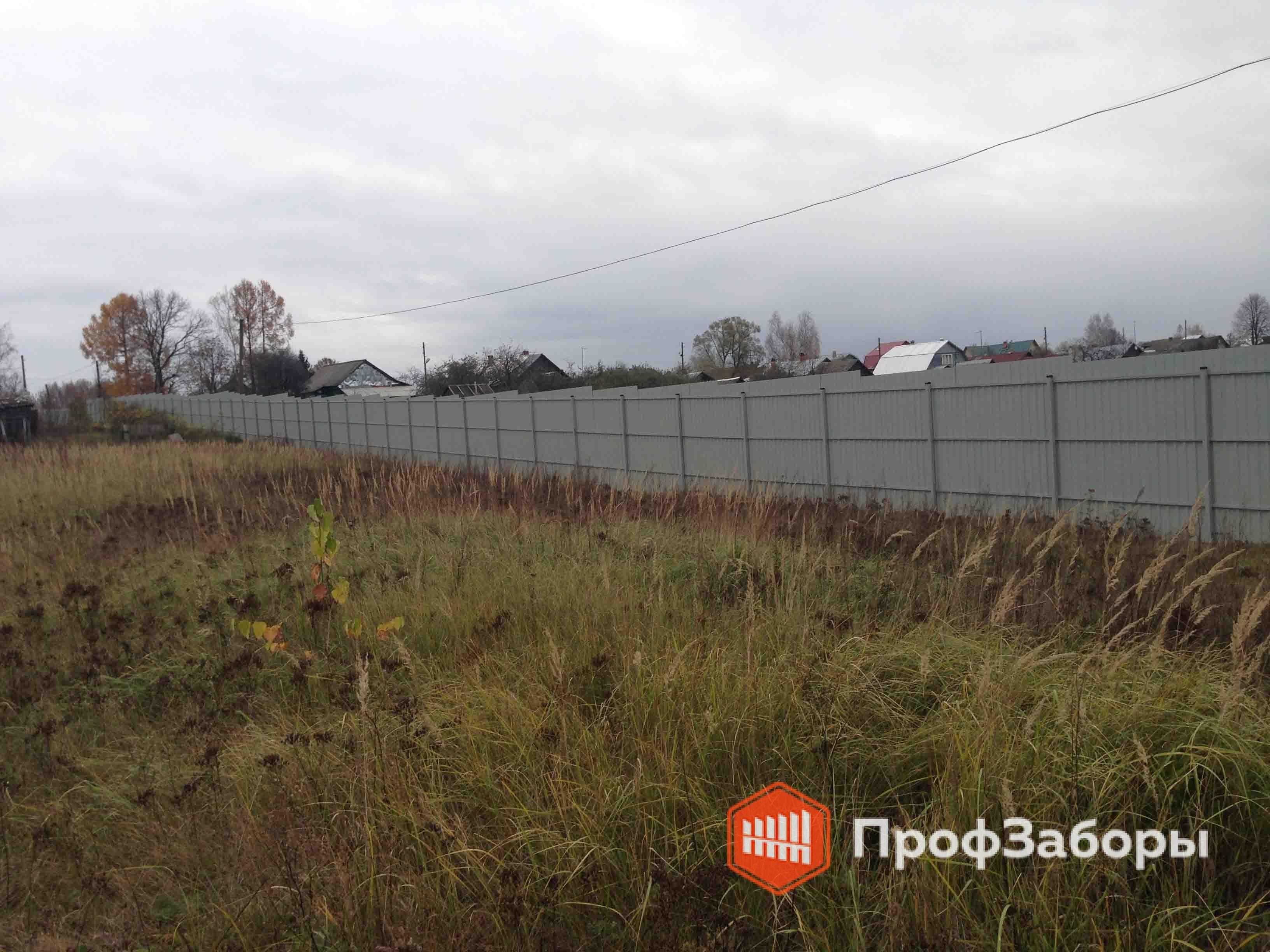 Заборы Из профнастила  - Раменский район. Фото 3