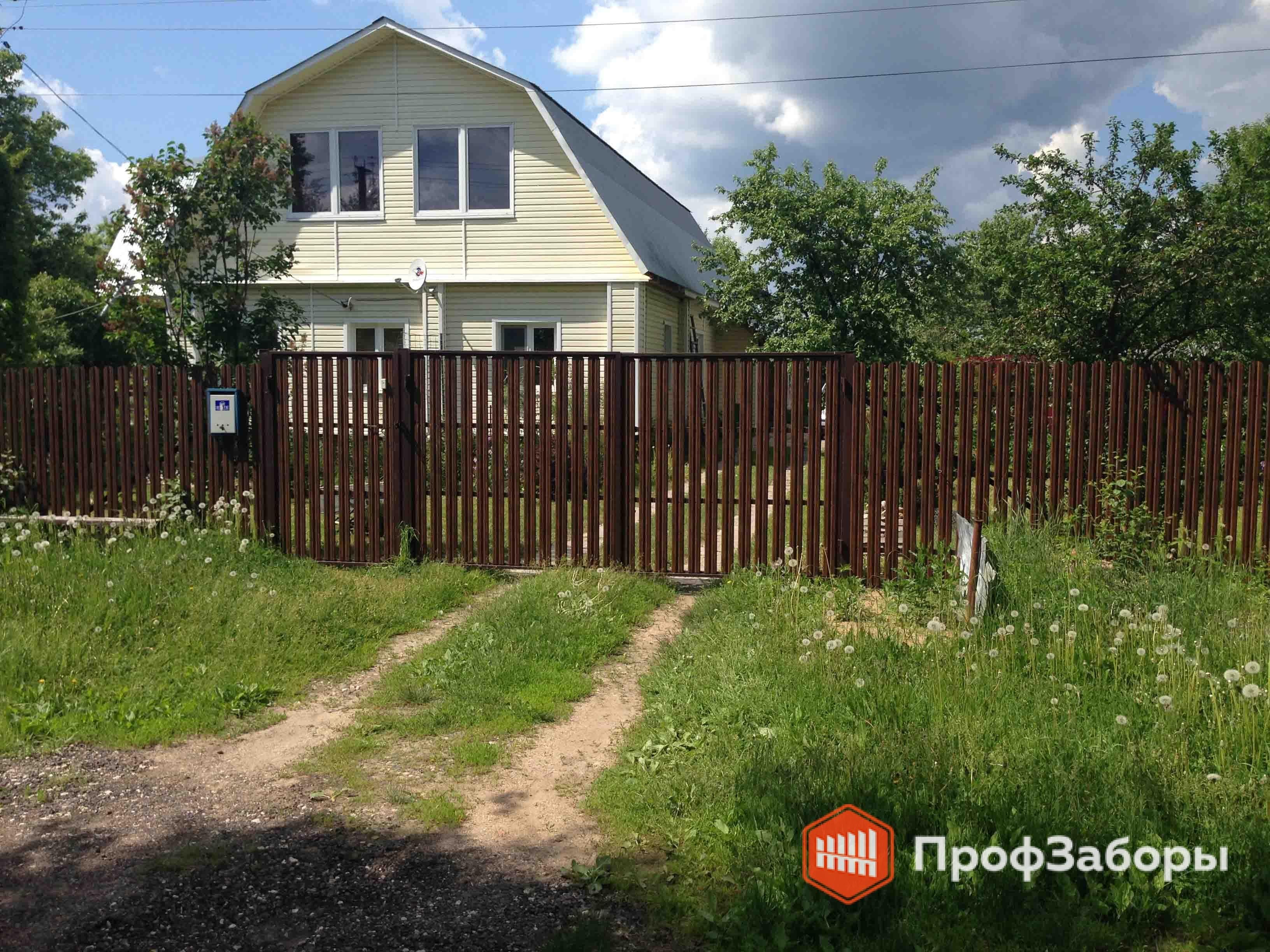 Заборы Из евроштакетника - Рязанская область. Фото 2