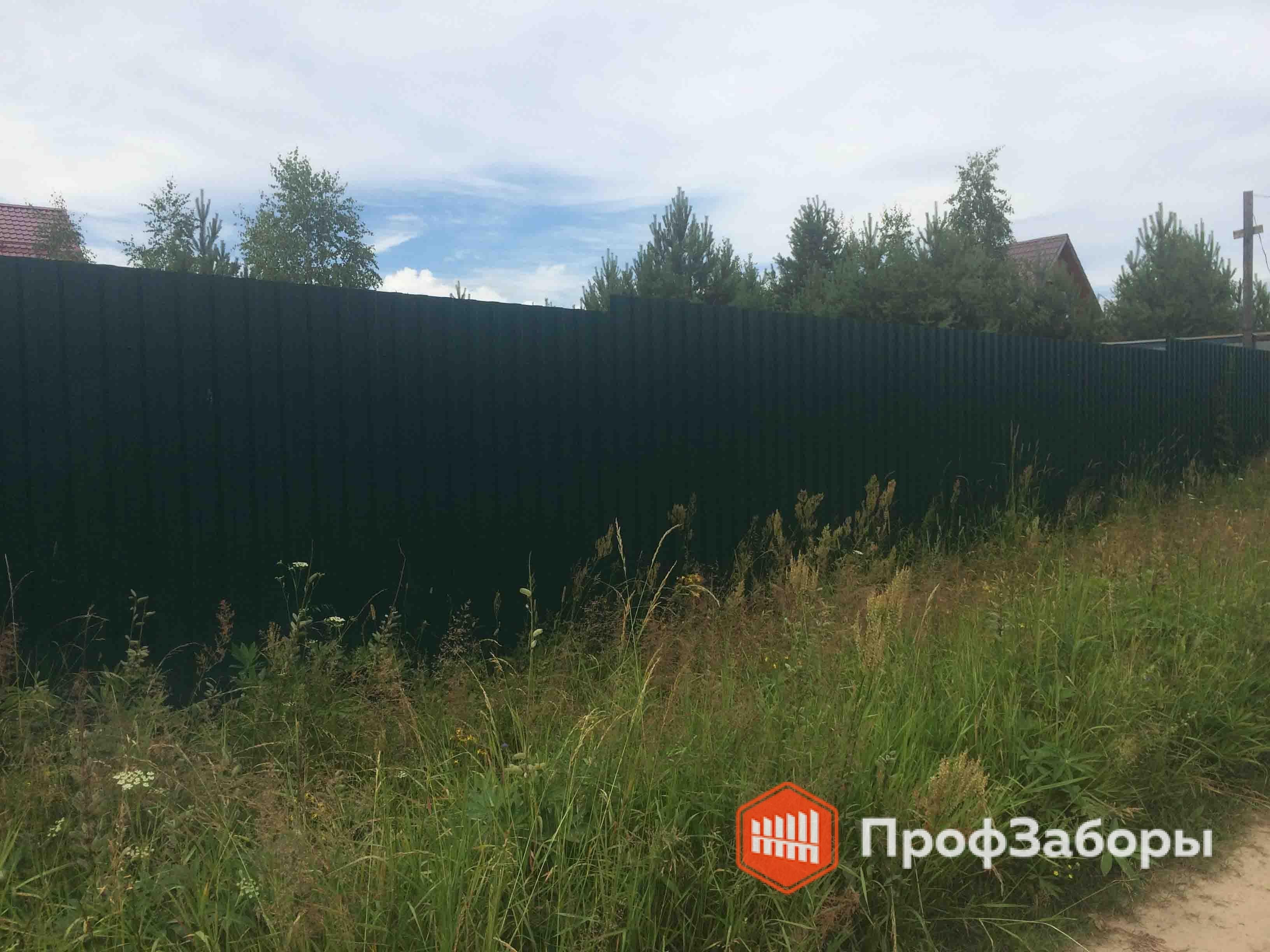 Заборы Из профнастила  - Городской округ Черноголовка. Фото 2