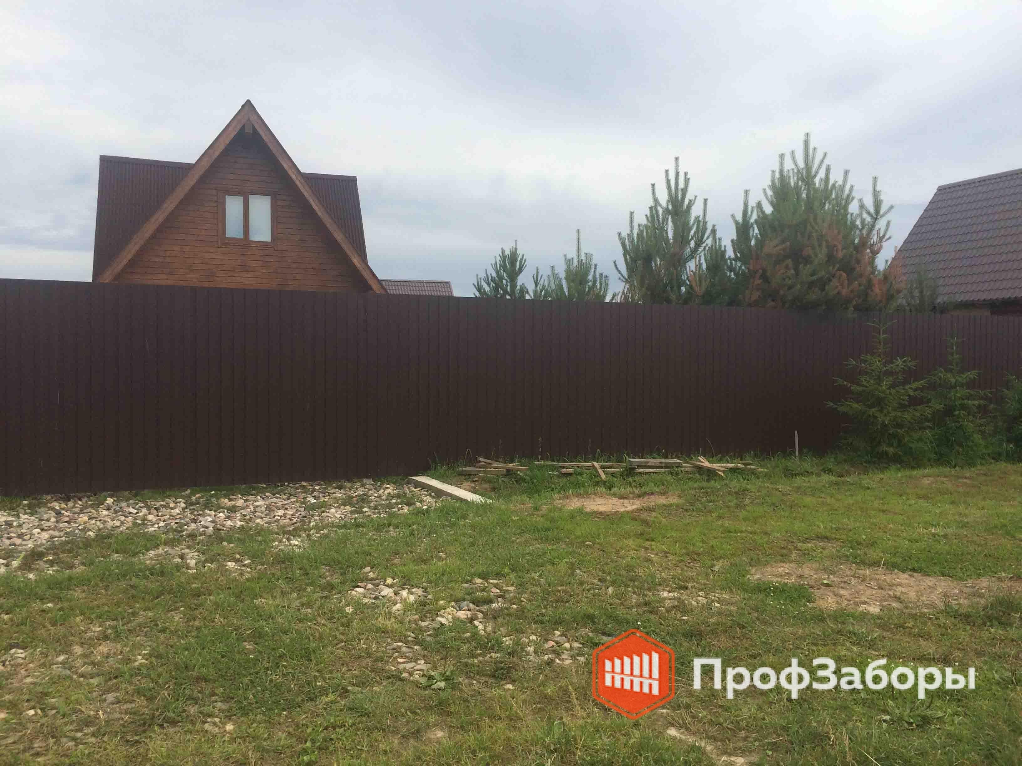 Заборы Из профнастила  - Городской округ Черноголовка. Фото 3