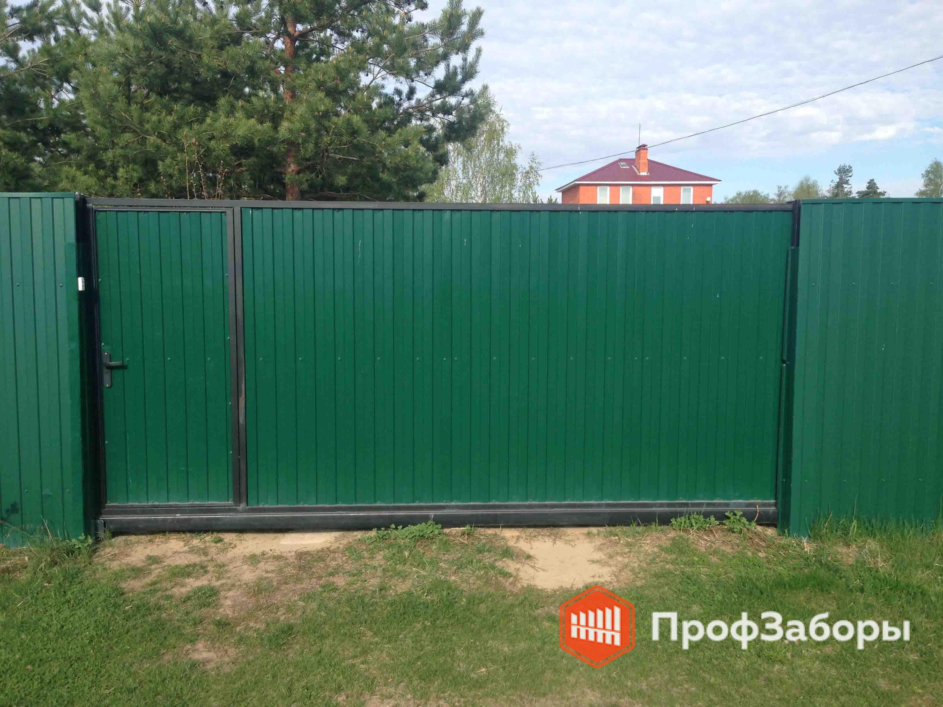 Заборы Из профнастила  - Щелковский район. Фото 2