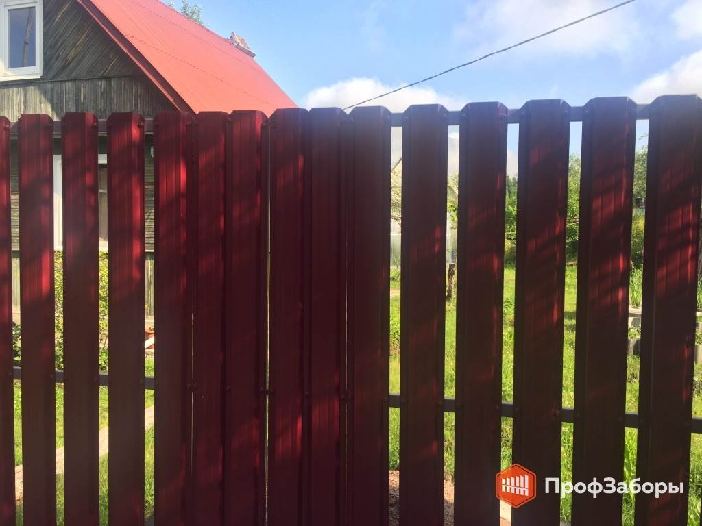 Заборы Из евроштакетника - ОреховоЗуевский район. Фото 2