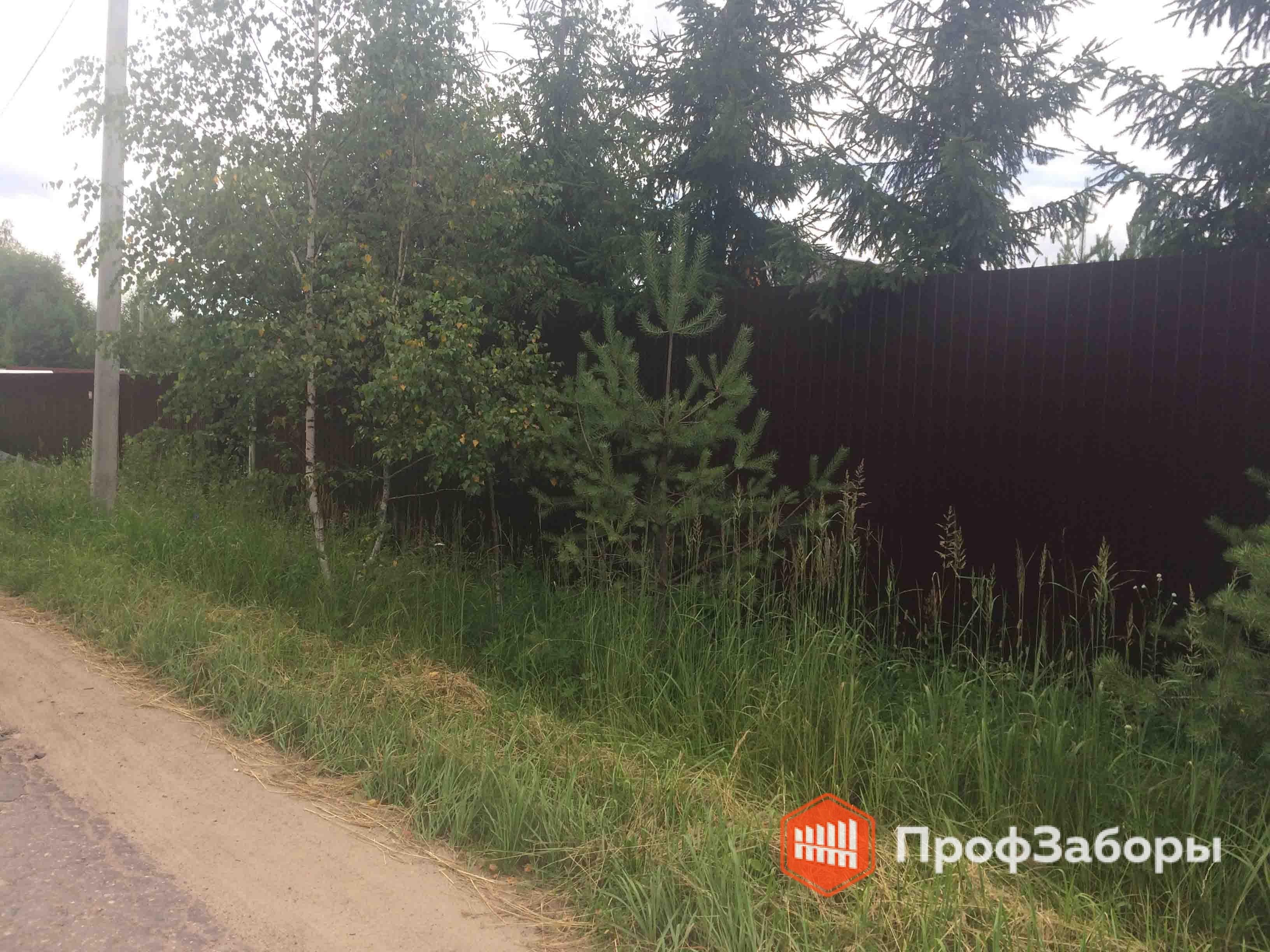 Заборы Из профнастила  - Городской округ Егорьевск. Фото 2
