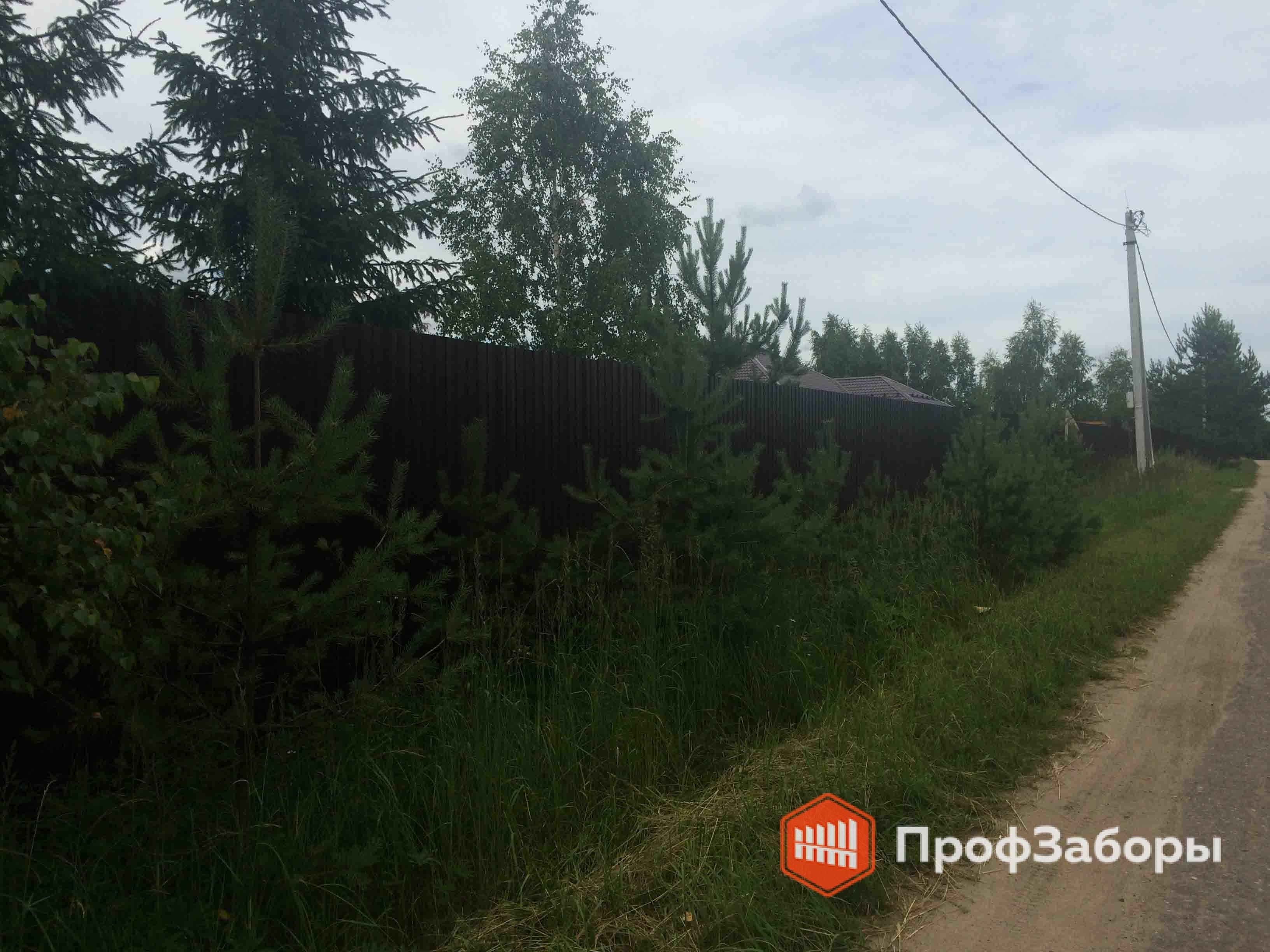 Заборы Из профнастила  - Городской округ Егорьевск. Фото 4