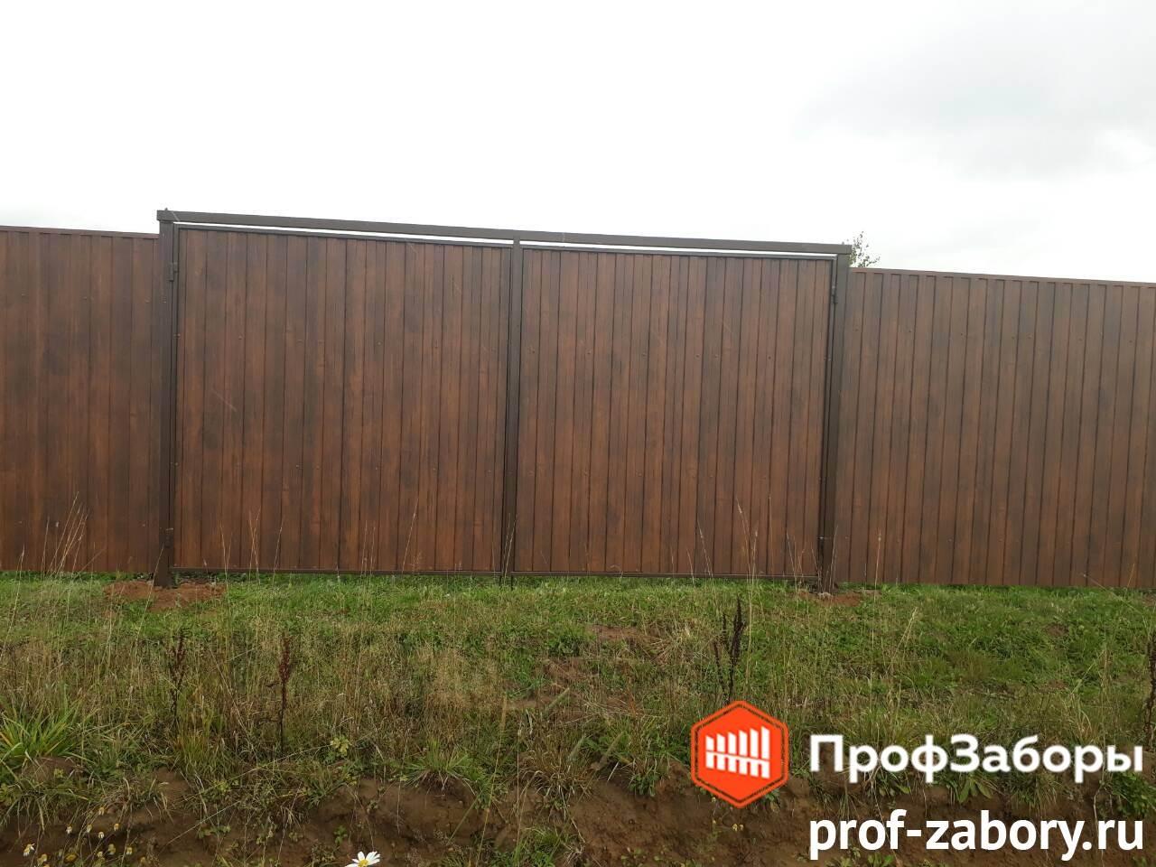 Заборы Из профнастила  - Городской округ Мытищи. Фото 4