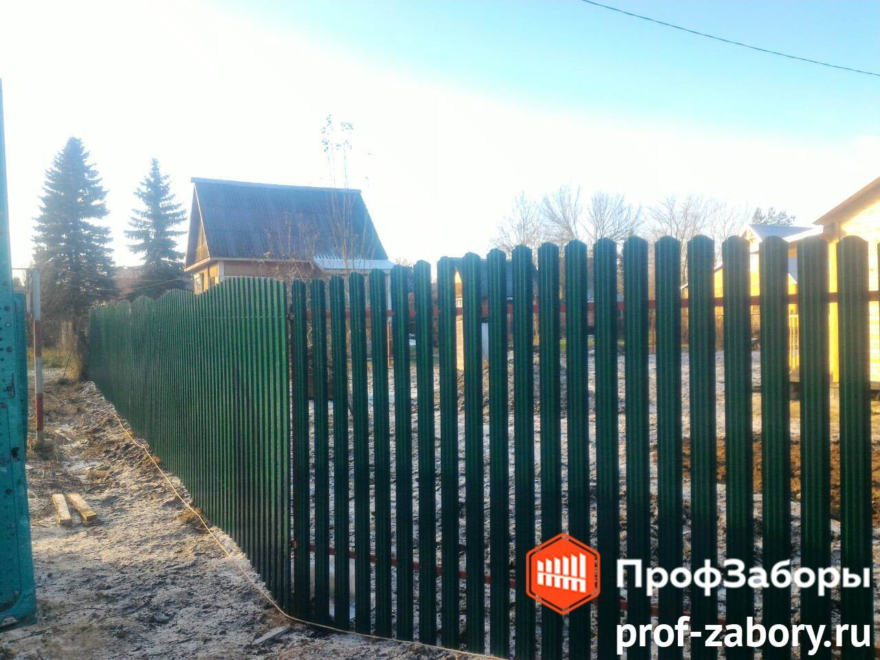 Заборы Из евроштакетника - Городское поселение Ашукино. Фото 2