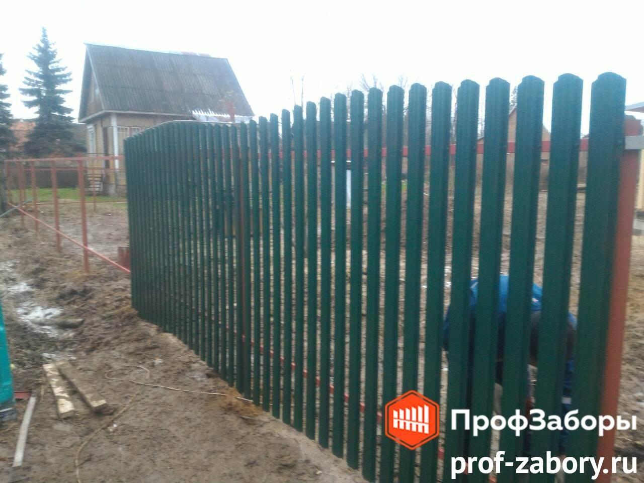 Заборы Из евроштакетника - Городское поселение Ашукино. Фото 3