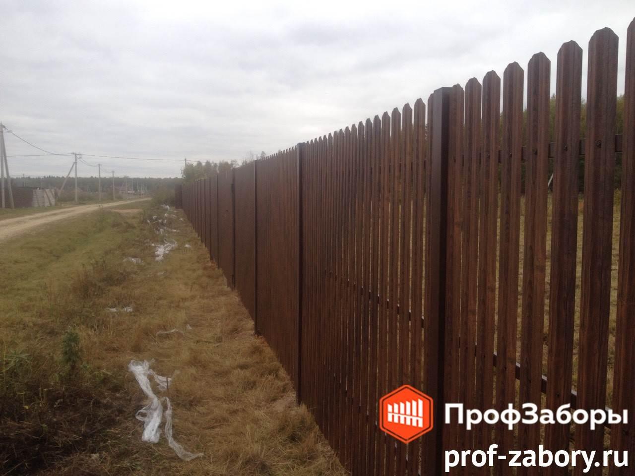 Заборы Из евроштакетника - Городской округ Подольск. Фото 4