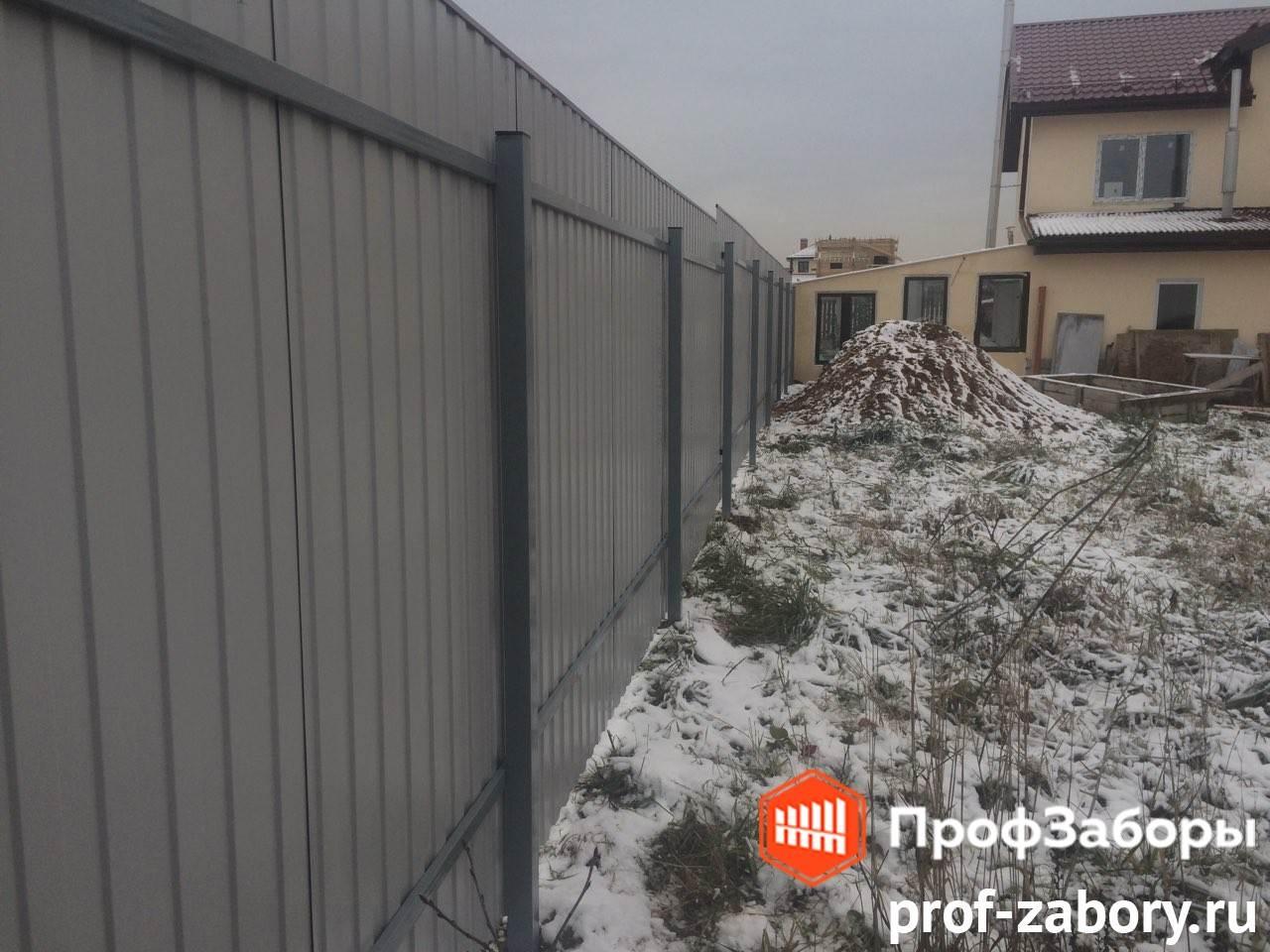 Заборы Из профнастила  - Городской округ Протвино. Фото 2
