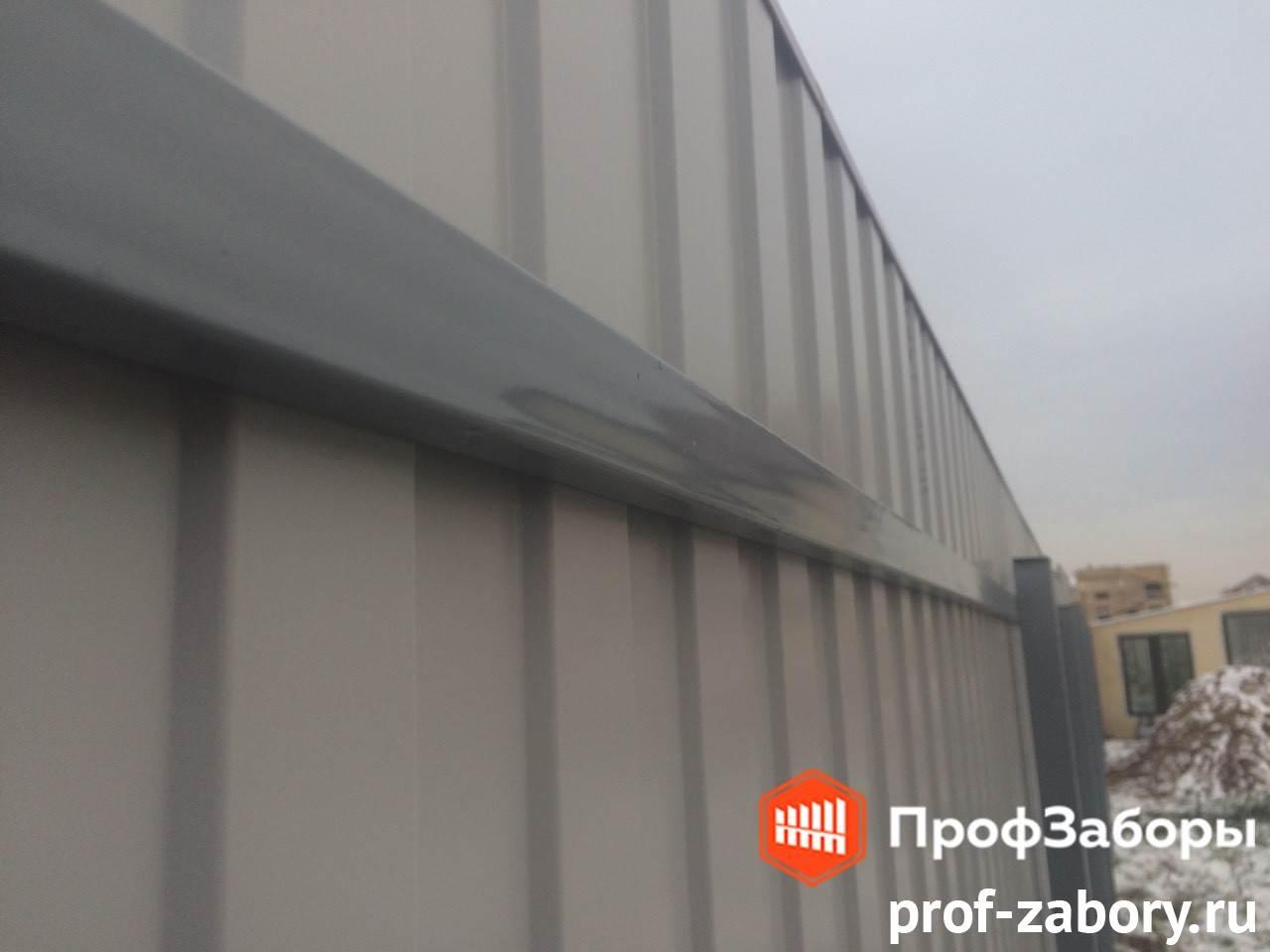 Заборы Из профнастила  - Городской округ Протвино. Фото 3