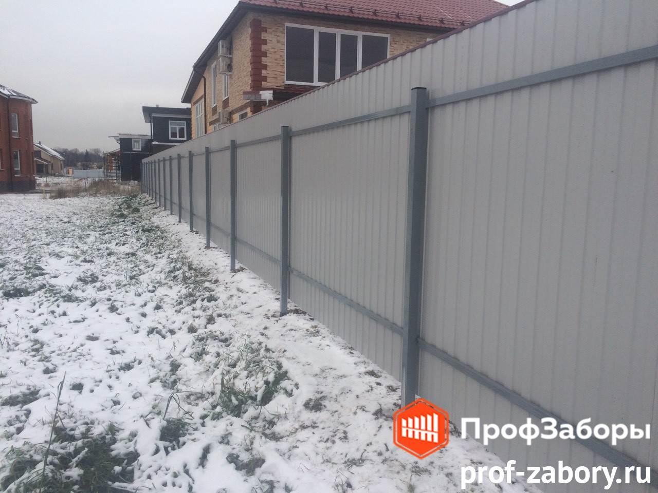 Заборы Из профнастила  - Городской округ Протвино. Фото 4