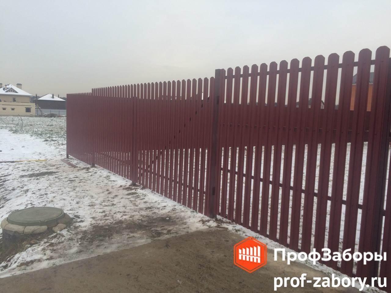Заборы Из евроштакетника - Город Ивантеевка. Фото 2