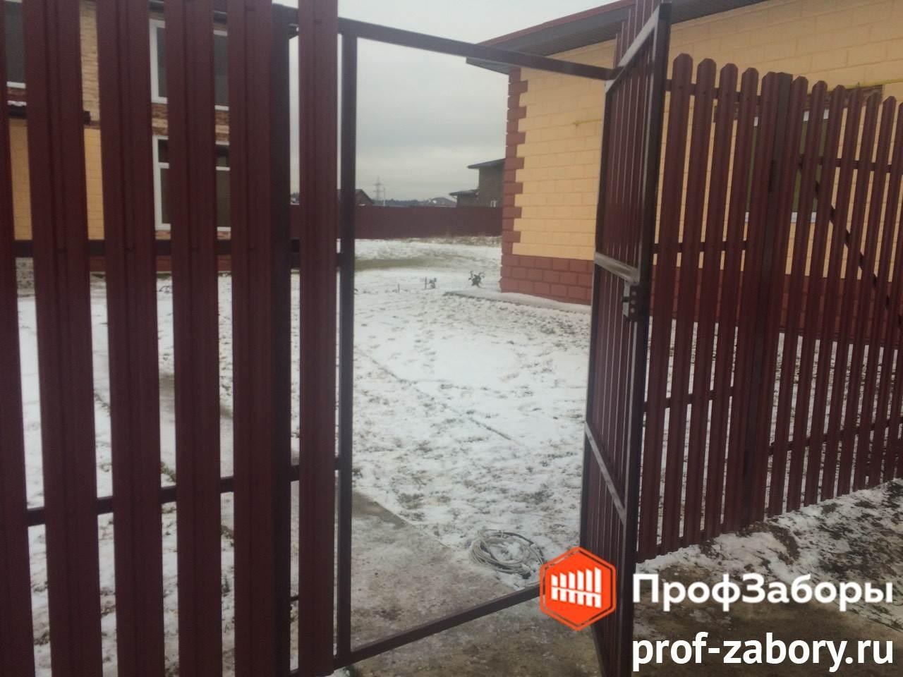 Заборы Из евроштакетника - Город Ивантеевка. Фото 3