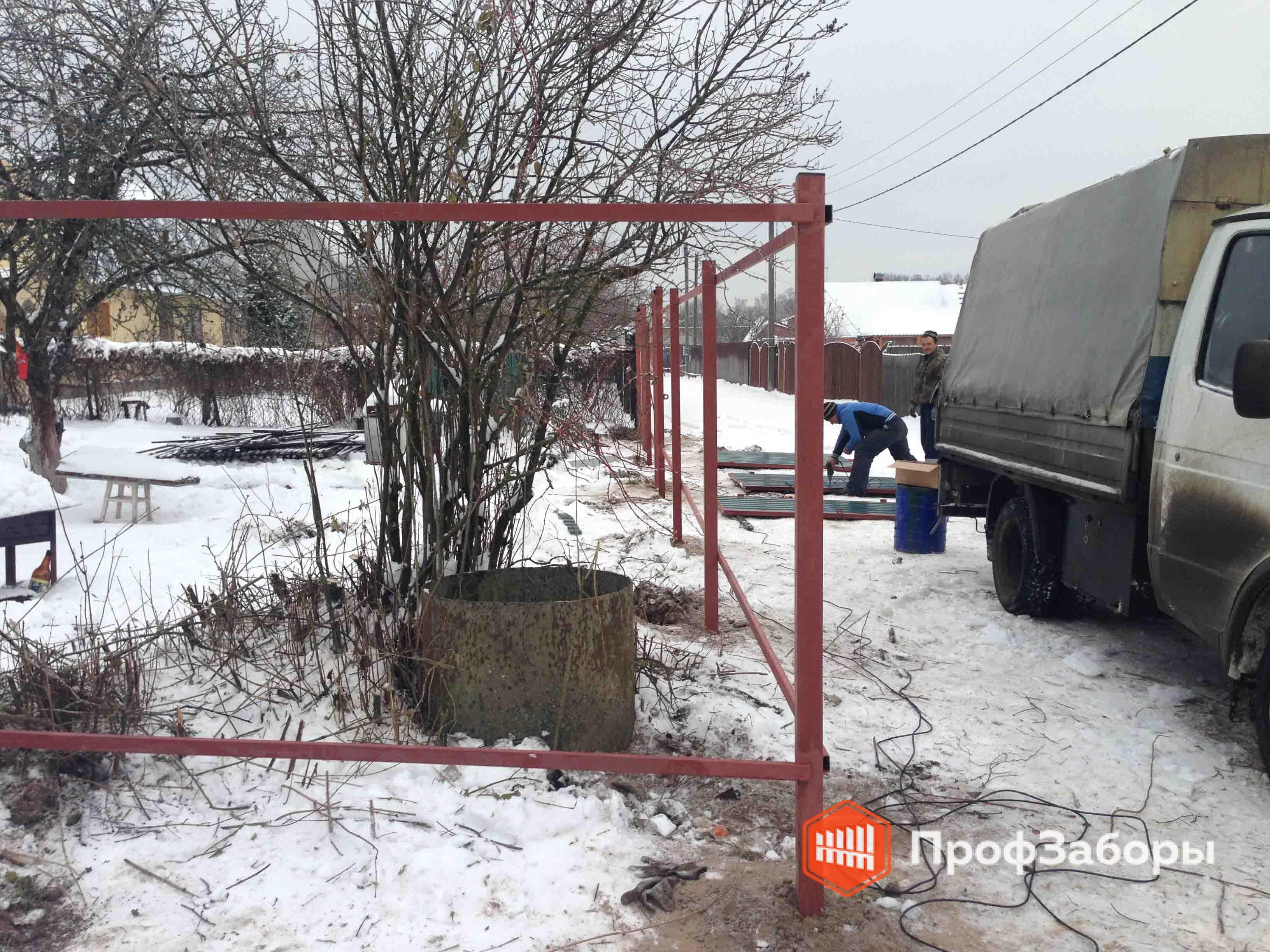 Заборы Из профнастила  - Городской округ Клин. Фото 4