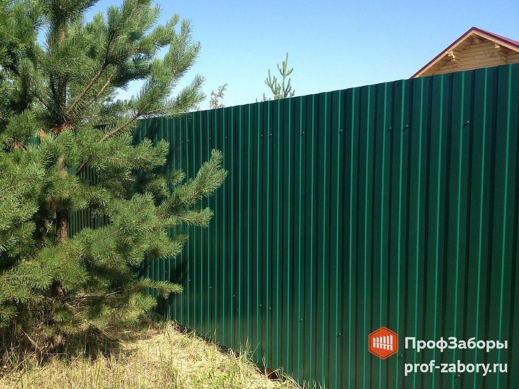 Забор из профнастила 8