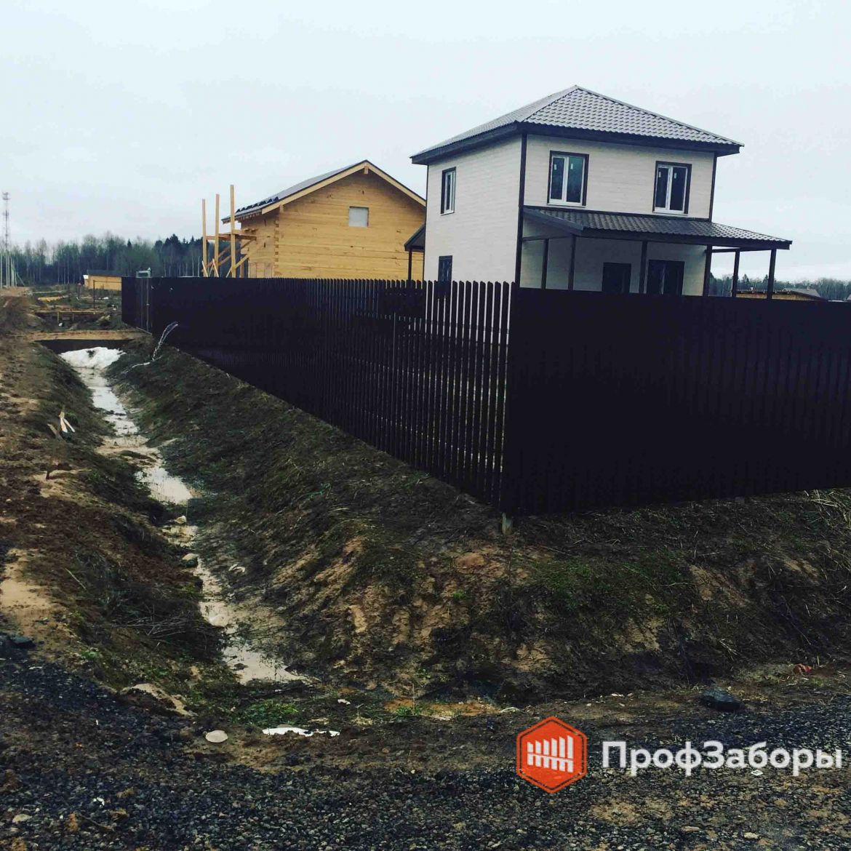 Заборы Комбинированный - Владимирская область. Фото 1