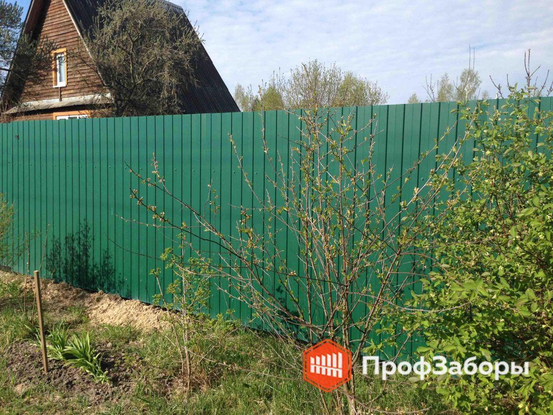 Заборы Из профнастила  - Деревня Александрово. Фото 1