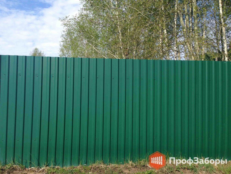 Заборы Из профнастила  - Рязанская область. Фото 1