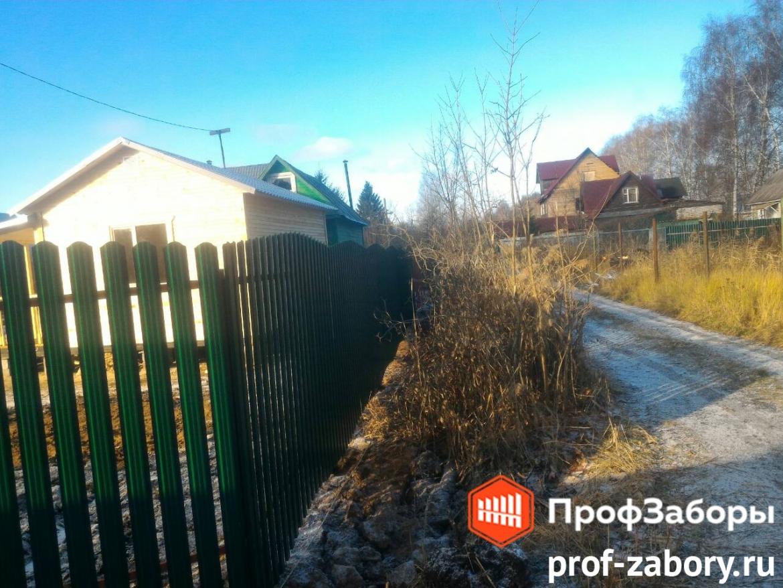 Заборы Из евроштакетника - Городское поселение Ашукино. Фото 1