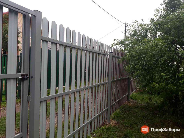 Заборы Из евроштакетника - Щелковский район. Фото 1