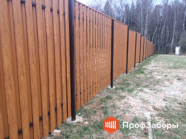Заборы Из евроштакетника - Волоколамский район. Фото 1