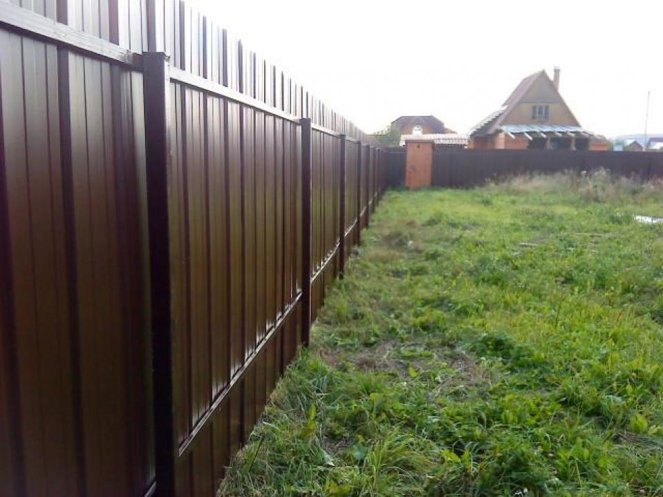 Сколько стоит поставить забор под ключ