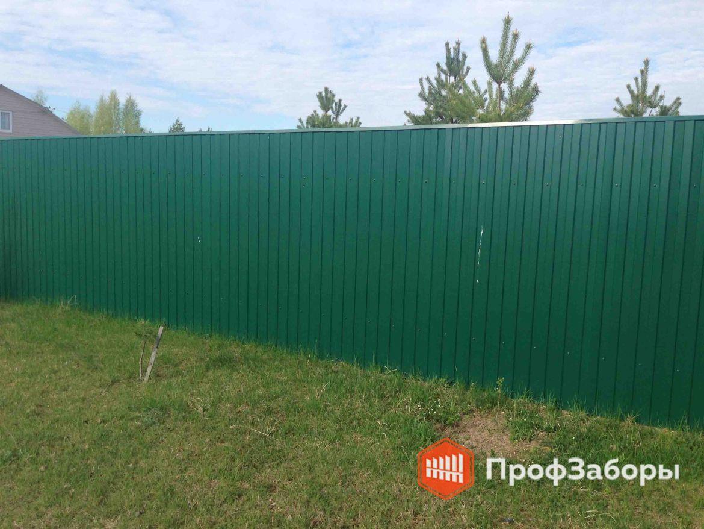 Заборы Из профнастила  - Щелковский район. Фото 1